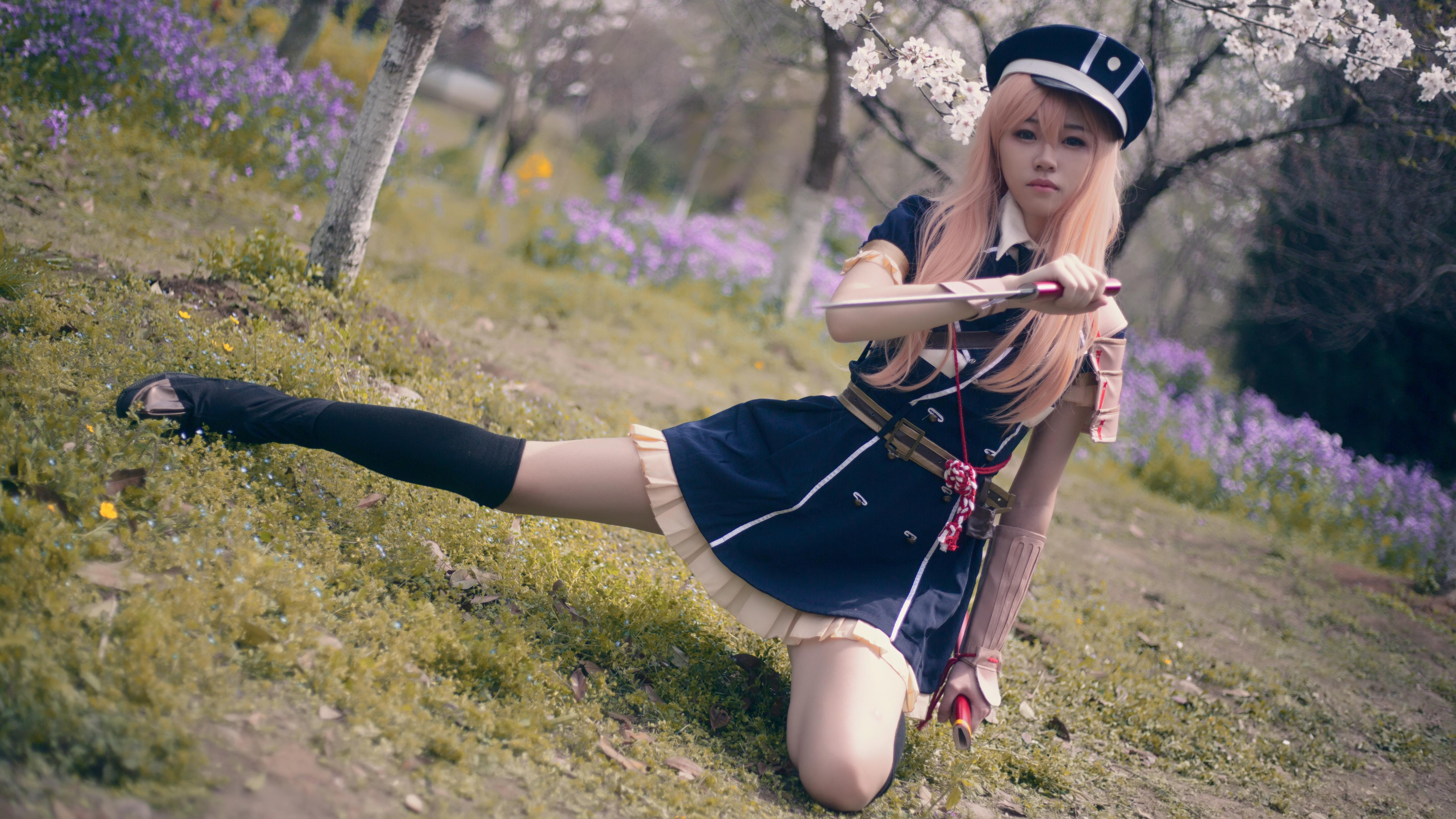 《刀剑乱舞》乱藤四郎cosplay【CN:绯茶】-第8张