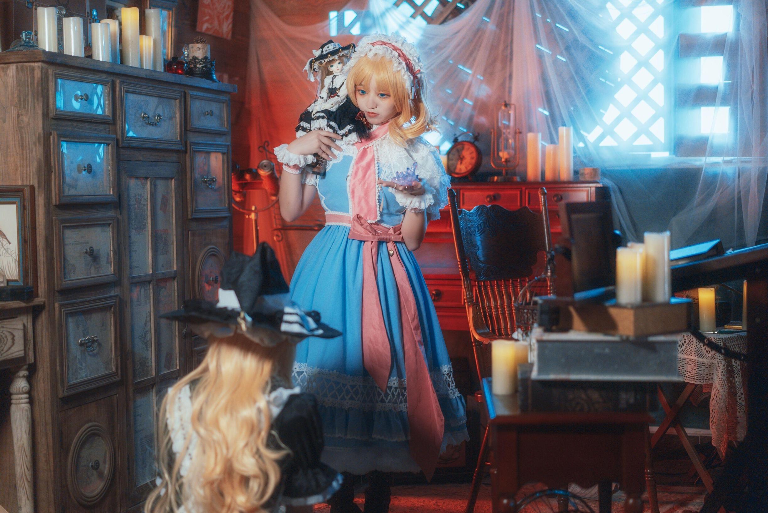 《东方PROJECT》正片cosplay【CN:歌梨】 -7重cosplay女装图片插图