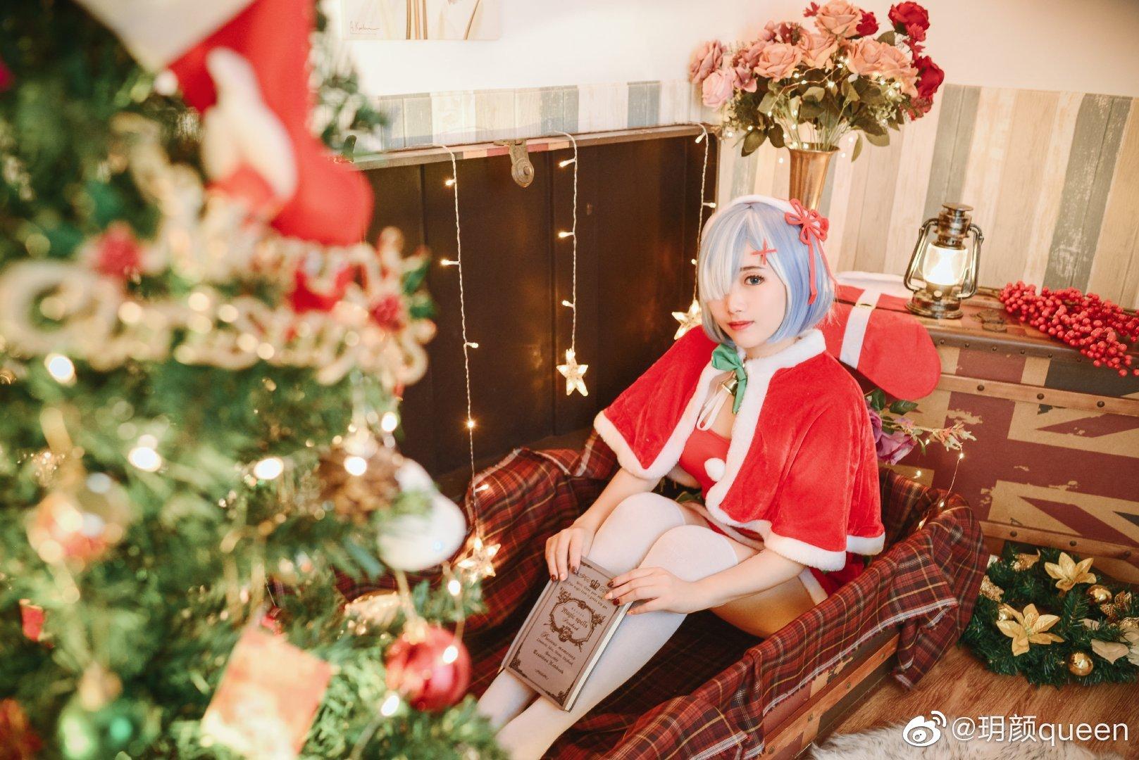 Re:从零开始的异世界生活   蕾姆   圣诞   @玥颜queen (9P)-第3张