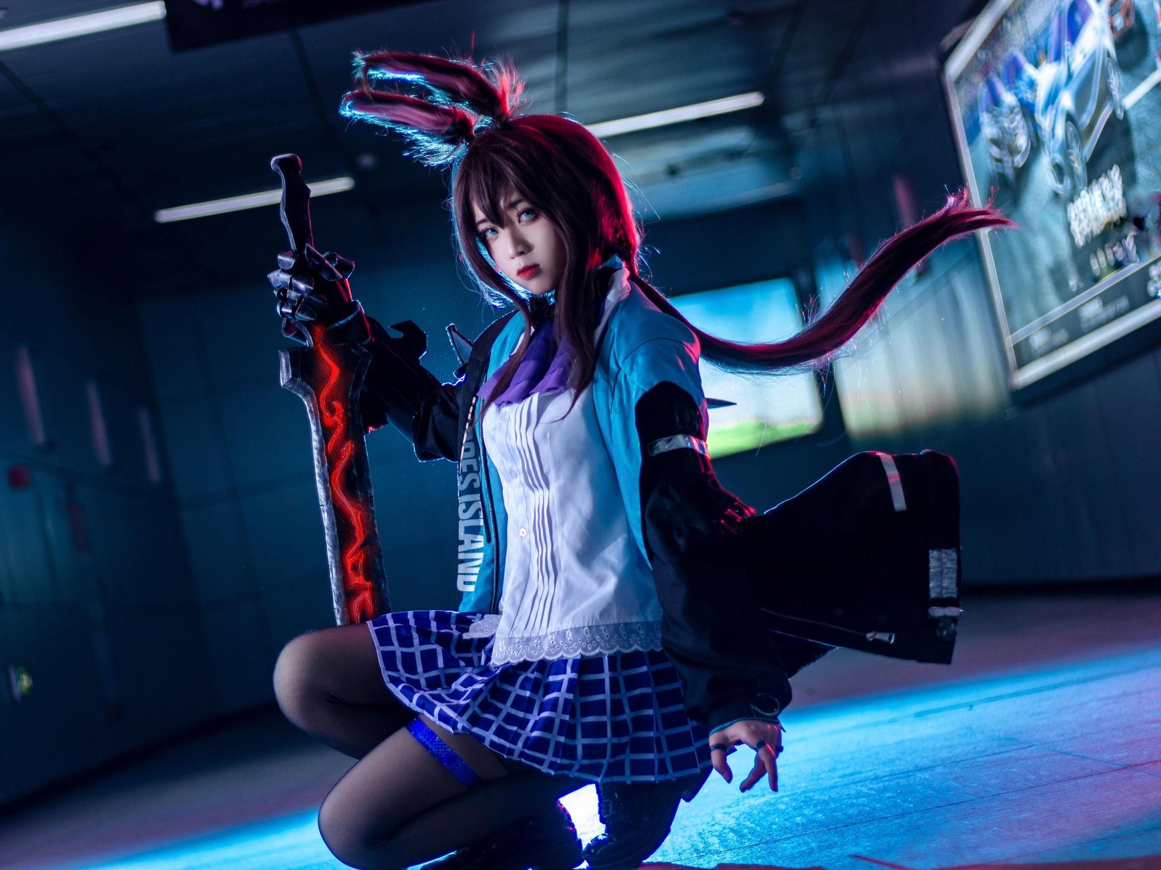 《萤火虫动漫游戏嘉年华》漫展cosplay【CN:双叶Futaba】-第2张