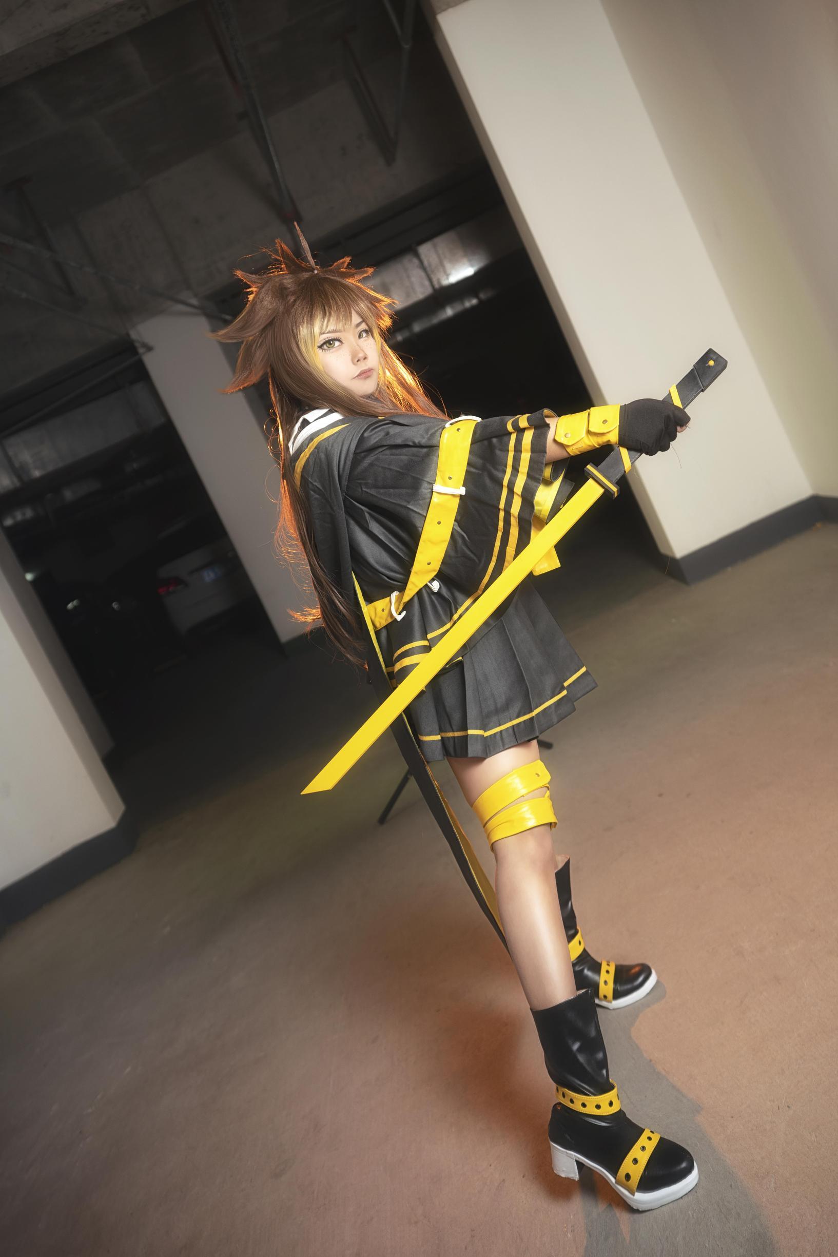 《凹凸世界》凝晶cosplay【CN:分裂双星k耀可】 -cosplay武器剑图片下载插图