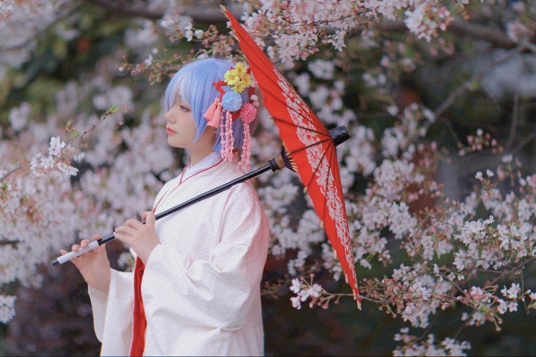 《RE:从零开始的异世界生活》蕾姆cosplay【CN:唐暖别吃了w】-第3张