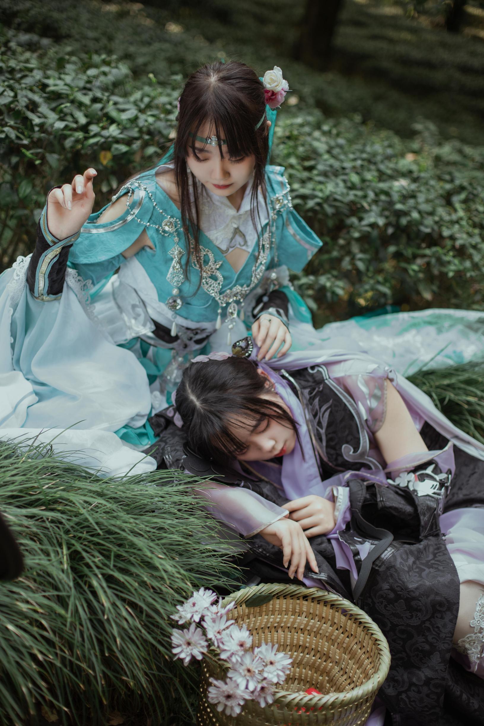 《剑侠情缘网络版叁》剑三cosplay【CN:柚子的维NI熊】-第11张