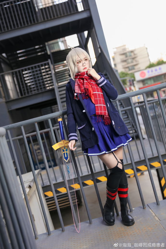 Fate/GrandOrder   迷之女主角x·alter   @泡泡_咖啡因成瘾患者 (9P)-第9张