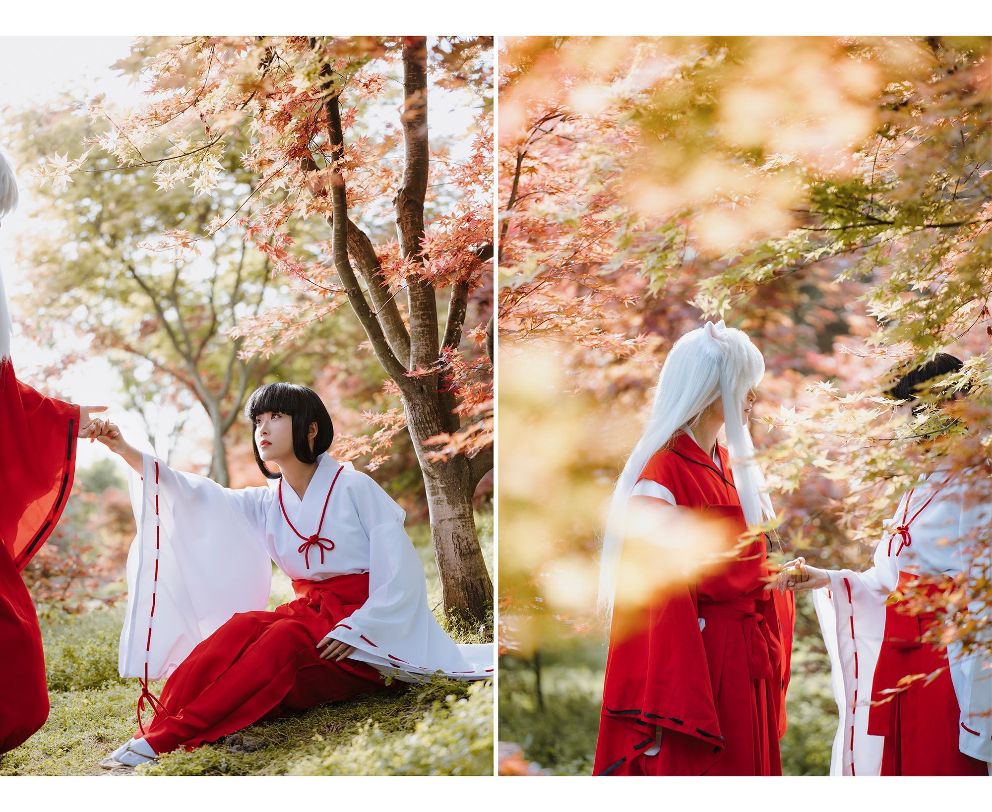 《犬夜叉》桔梗cosplay【CN:乱红】-第10张