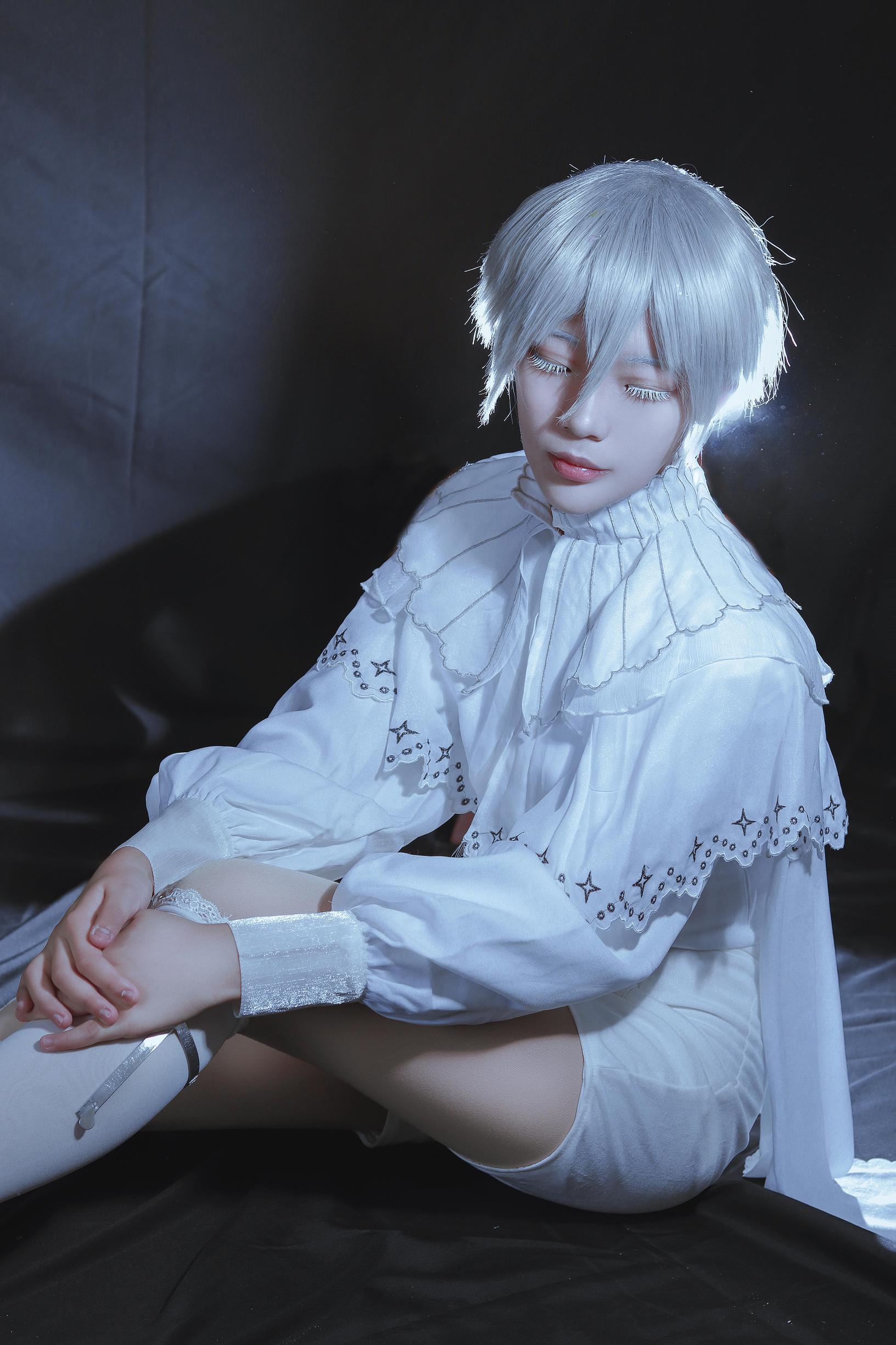《宝石之国》南极石cosplay【CN:白鬼大魔王】 -cosplay的女装图片插图