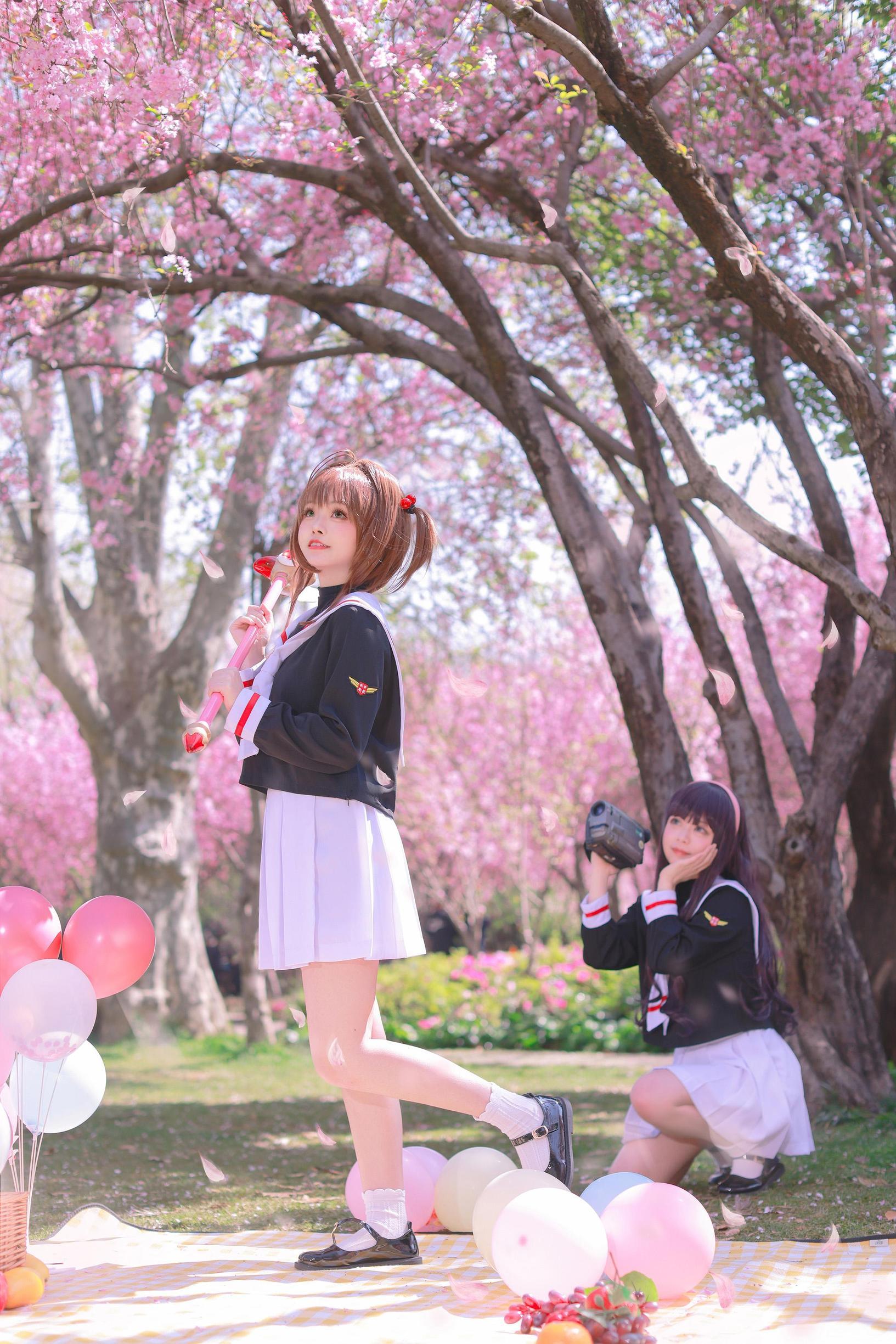 《魔卡少女樱》百变小樱cosplay【CN:萌玘】-第6张