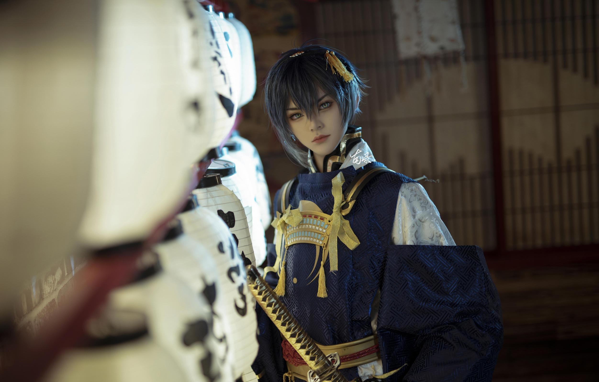 《刀剑乱舞》正片cosplay【CN:南渌Lin】-第4张