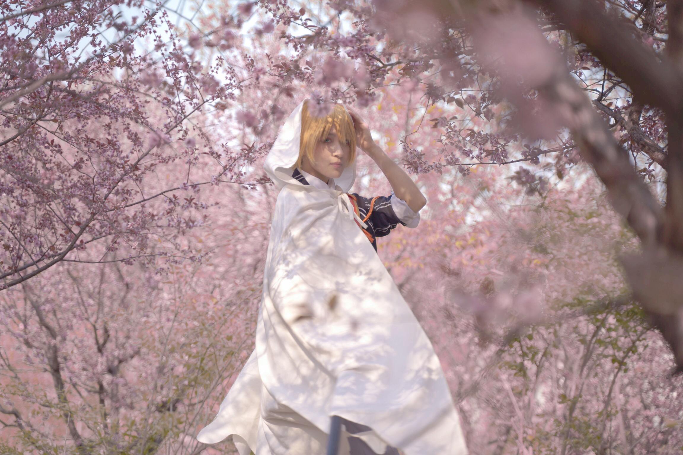 《刀剑乱舞》山姥切国广cosplay【CN:猹狸inoni】-第7张