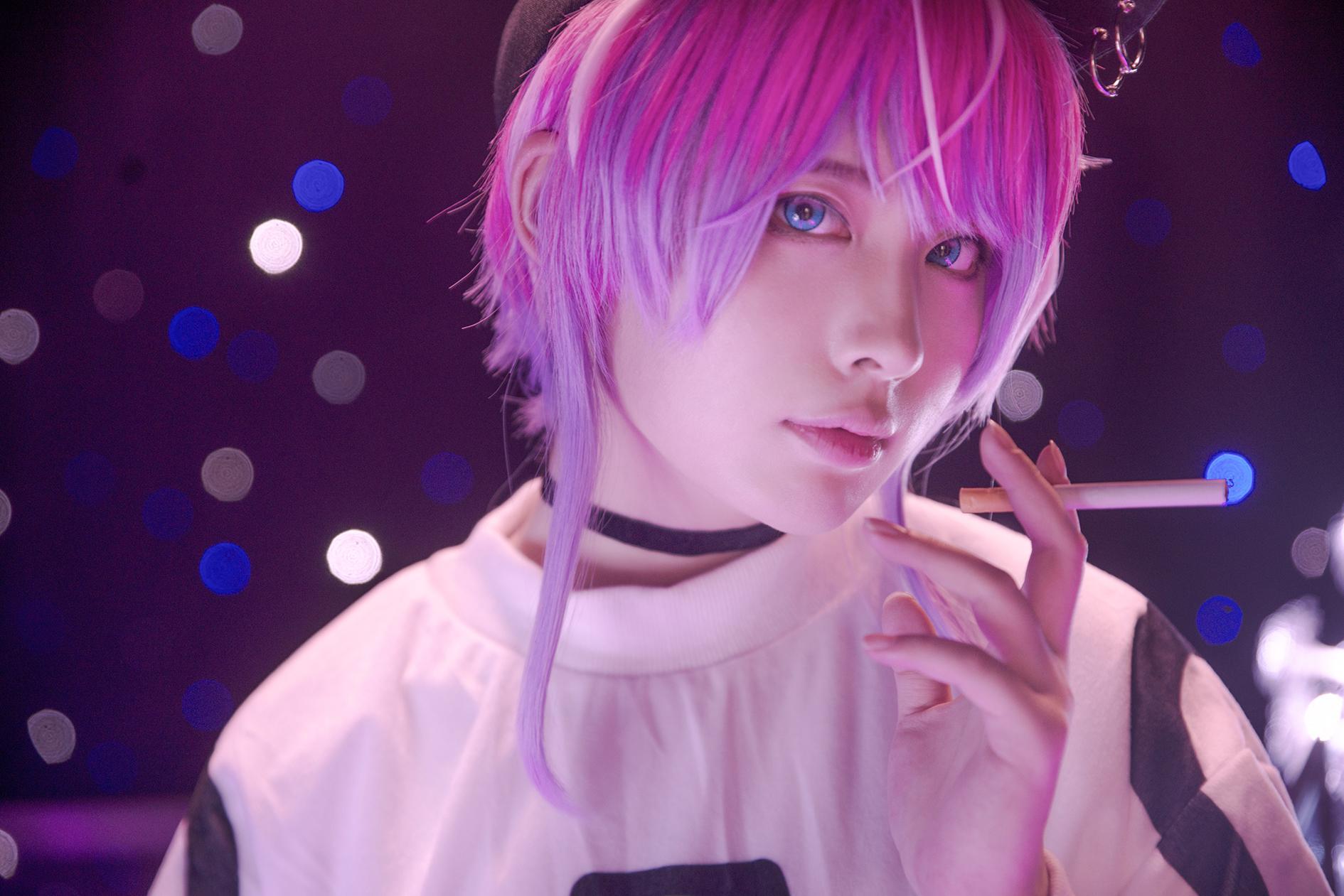 《ヒプノシスマイク》饴村乱数cosplay【CN:蓝斯Ransu】-第6张