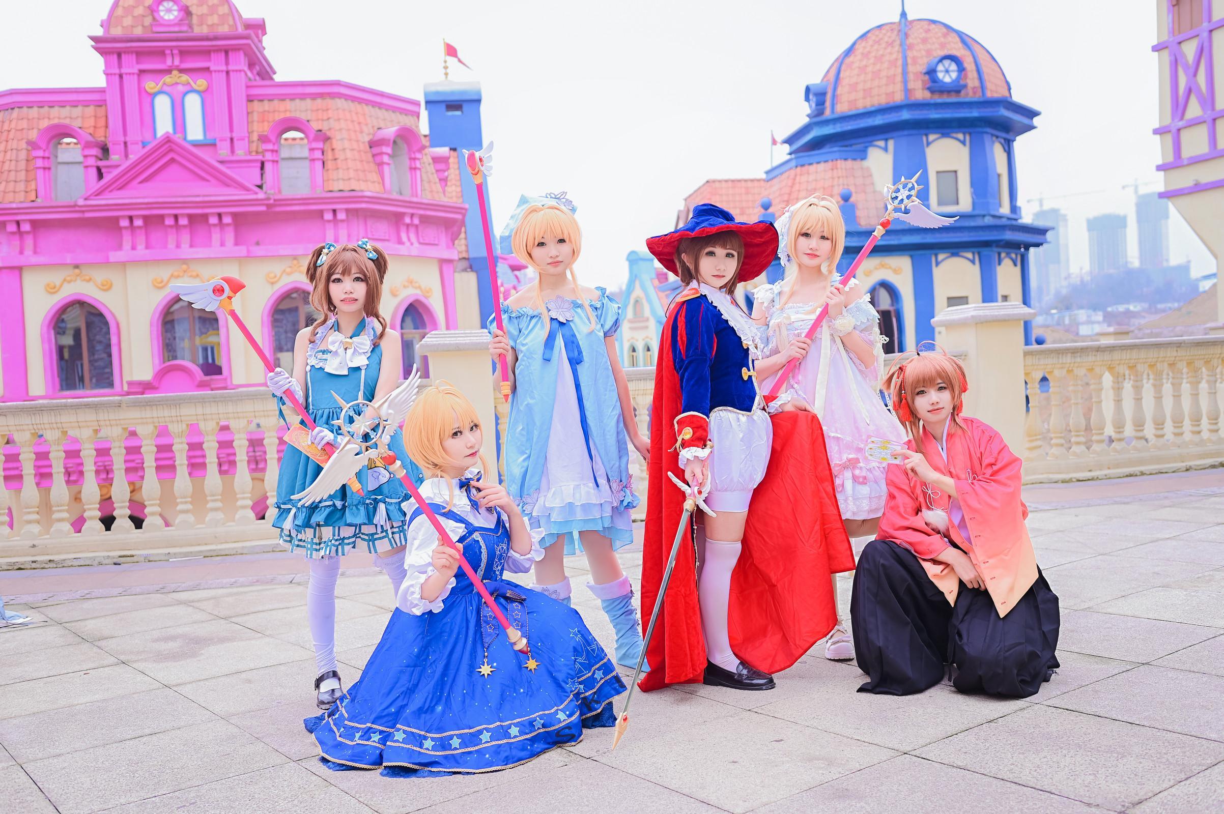 《魔卡少女樱》百变小樱cosplay【CN:陈梓今天暴富了吗】-第6张