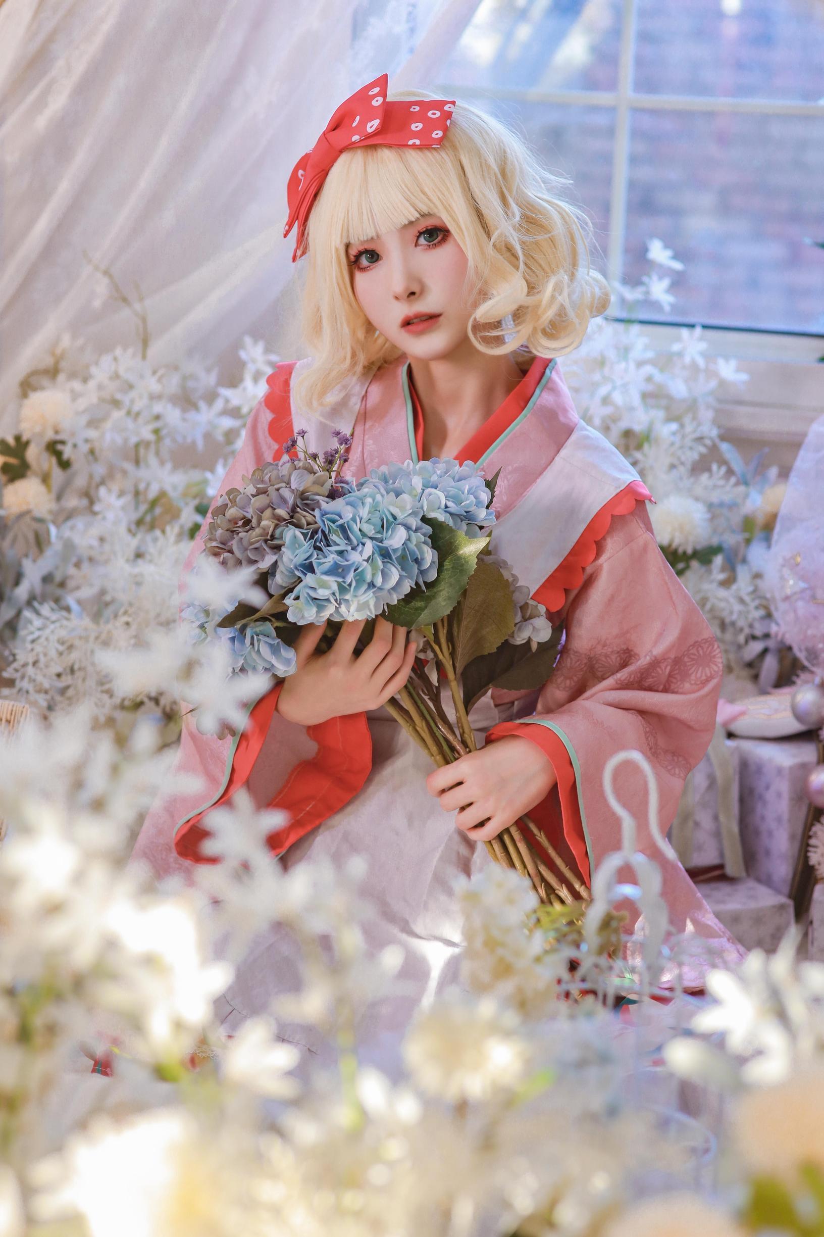 《蔷薇少女》蔷薇少女雏莓cosplay【CN:黎氿氿】-第2张