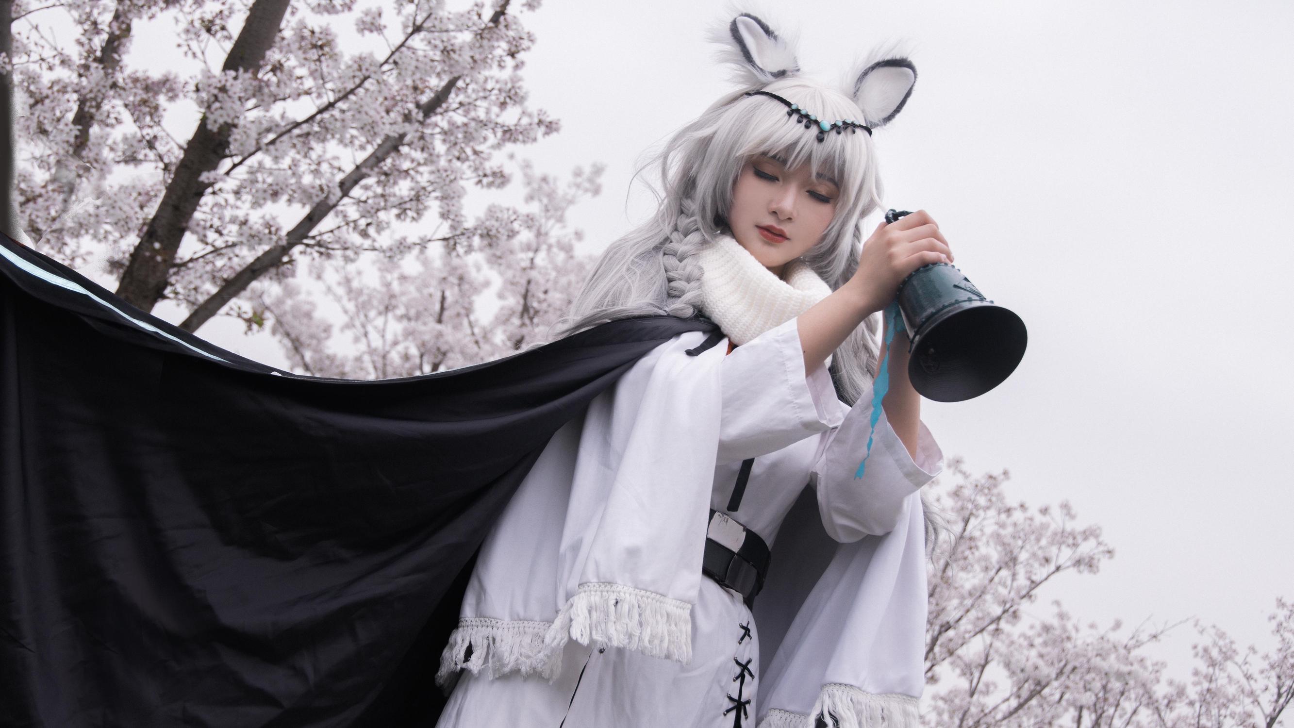《明日方舟》初雪cosplay【CN:时初_】-第5张