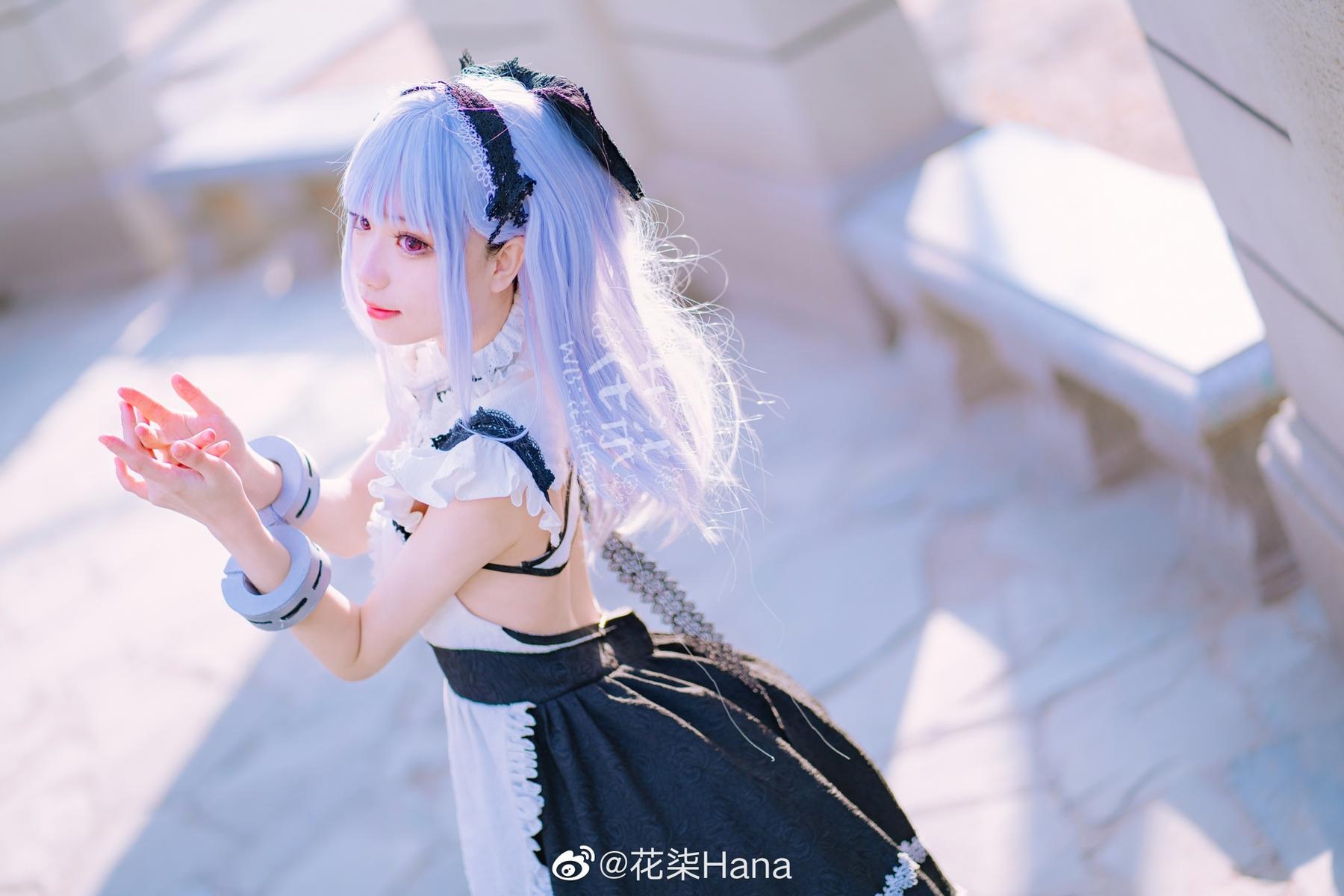 碧蓝航线   黛朵   @花柒Hana (9P)-第4张