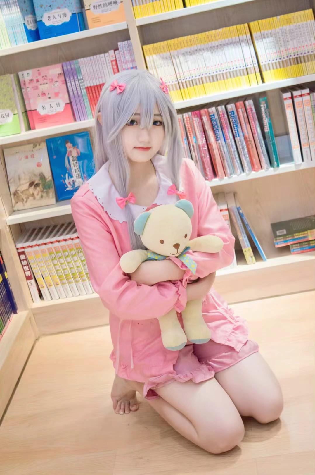 《埃罗芒阿老师》妹妹cosplay【CN:cuder】-第9张