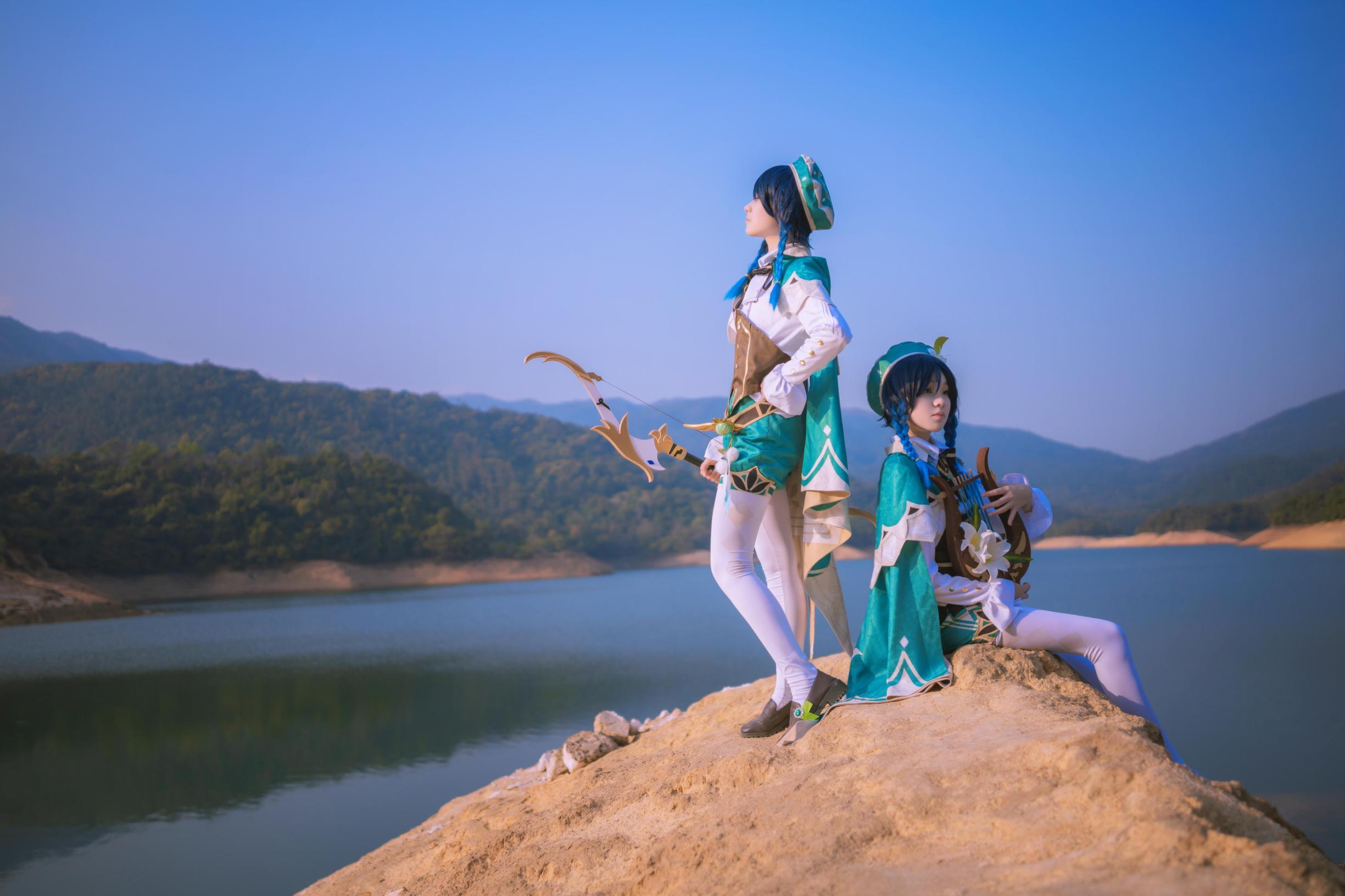 《原神》正片cosplay【CN:漪鲤kamikou】-第9张