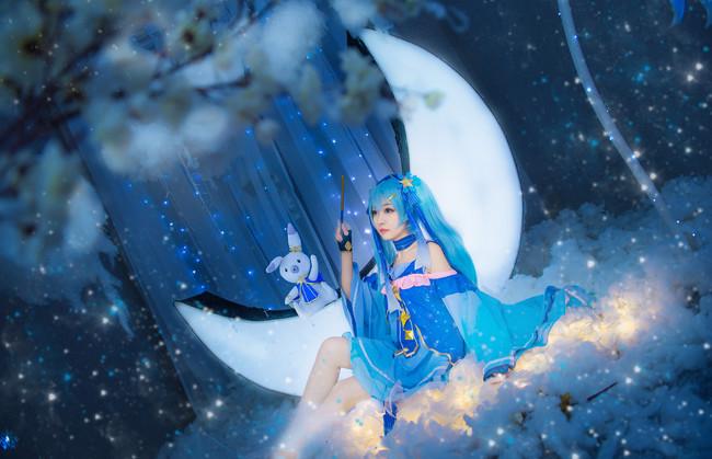 VOCALOID  初音未来  星与雪的公主  cn:蓝裳 (15P)-第8张