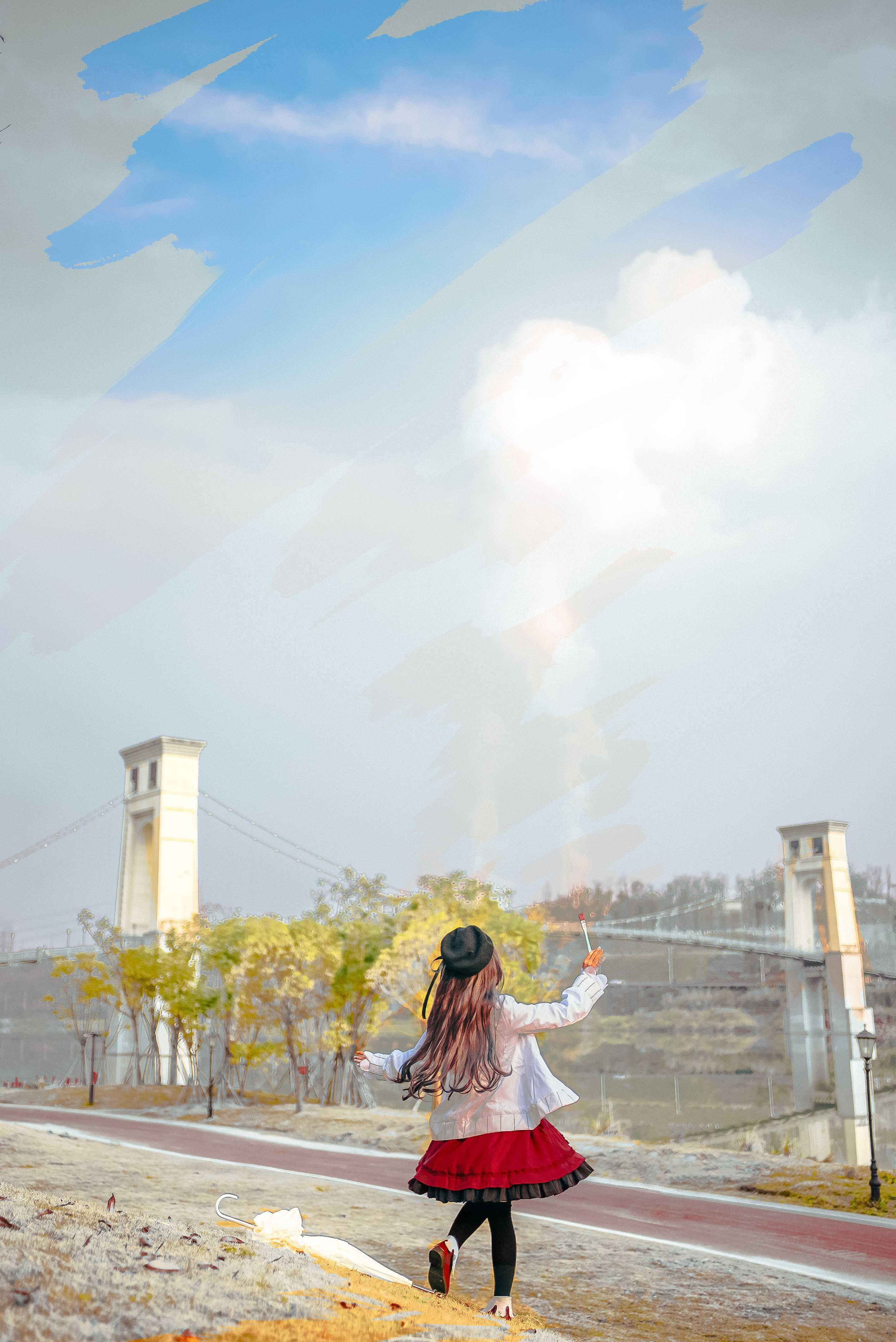《时空中的绘旅人》正片cosplay【CN:子姬ZJ】-第9张