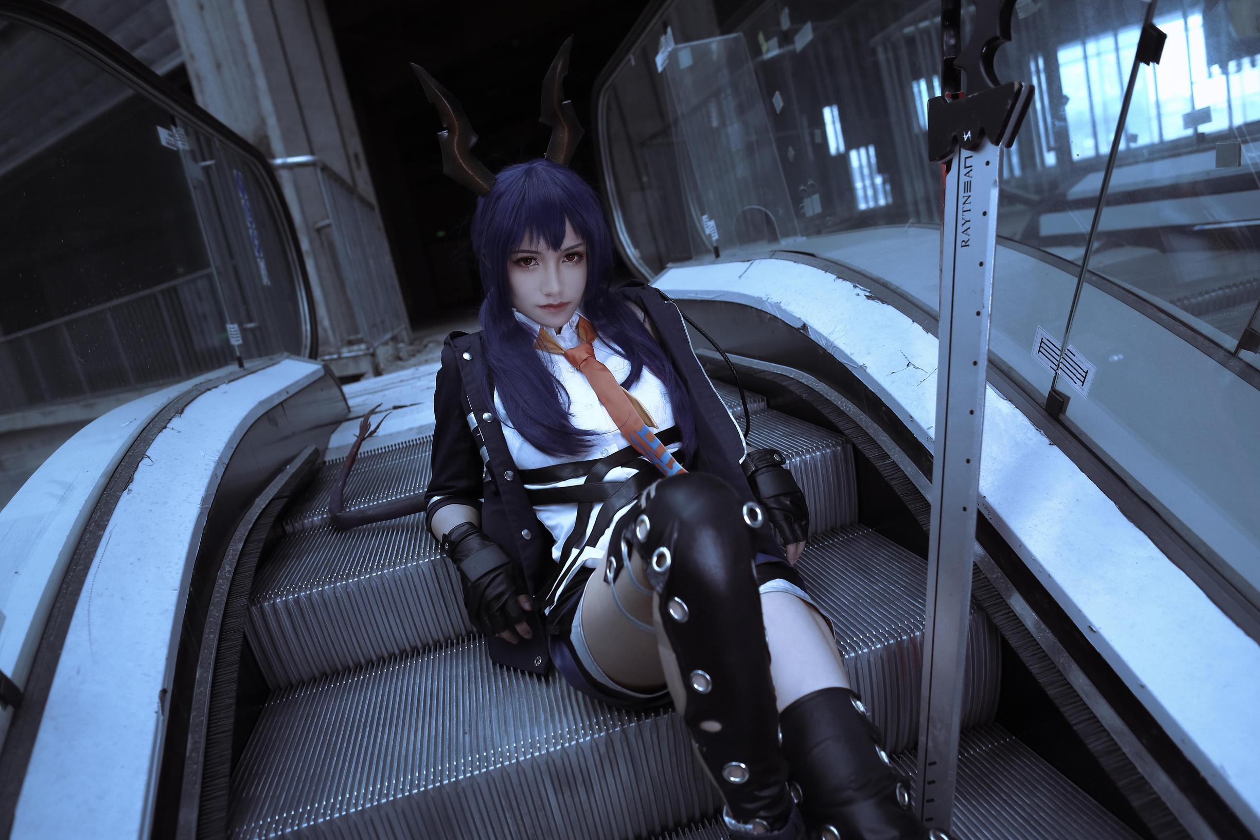 《明日方舟》明日方舟陈cosplay【CN:银杏AgZn】-第6张