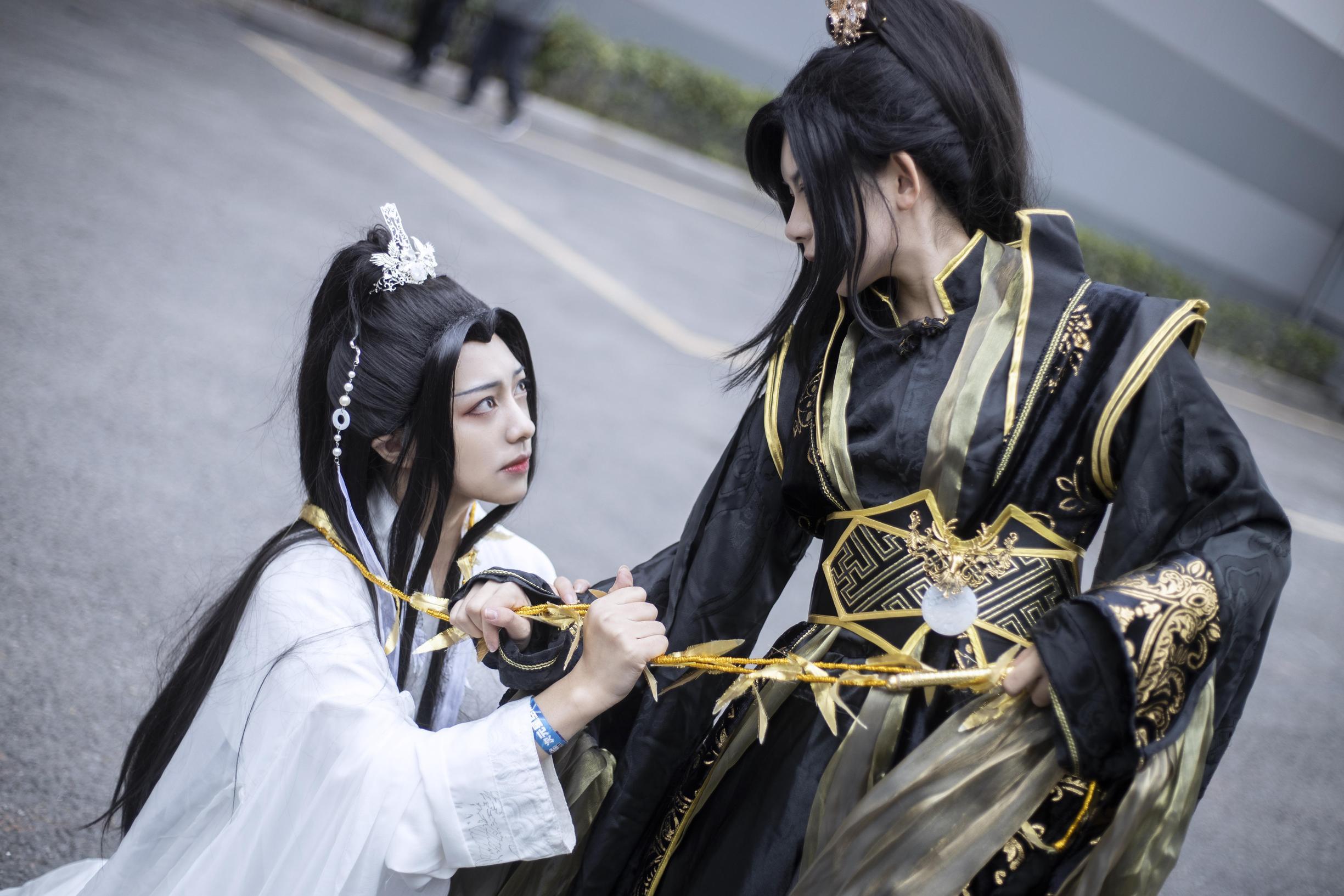《二哈和他的白猫师尊》楚晚宁cosplay【CN:沐梓_樱柒】-第5张