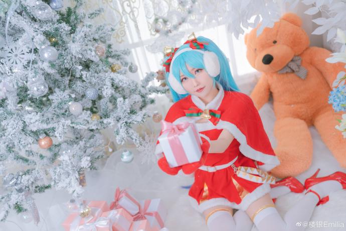 初音未来   圣诞节   @楼银Emilia (9P)-第6张