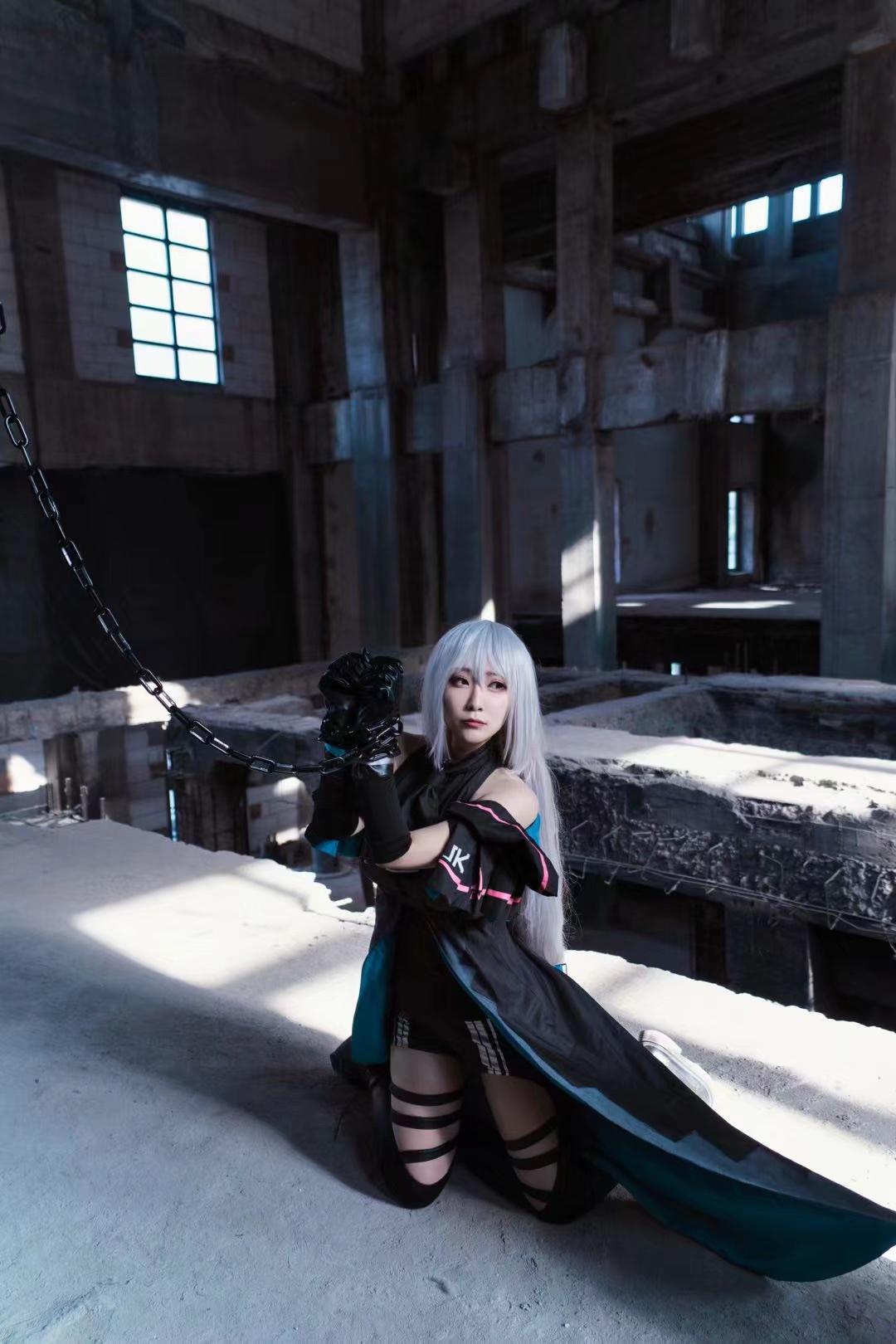《明日方舟》游戏cosplay【CN:四份怪兽肉搓一个肉丸子】-第5张