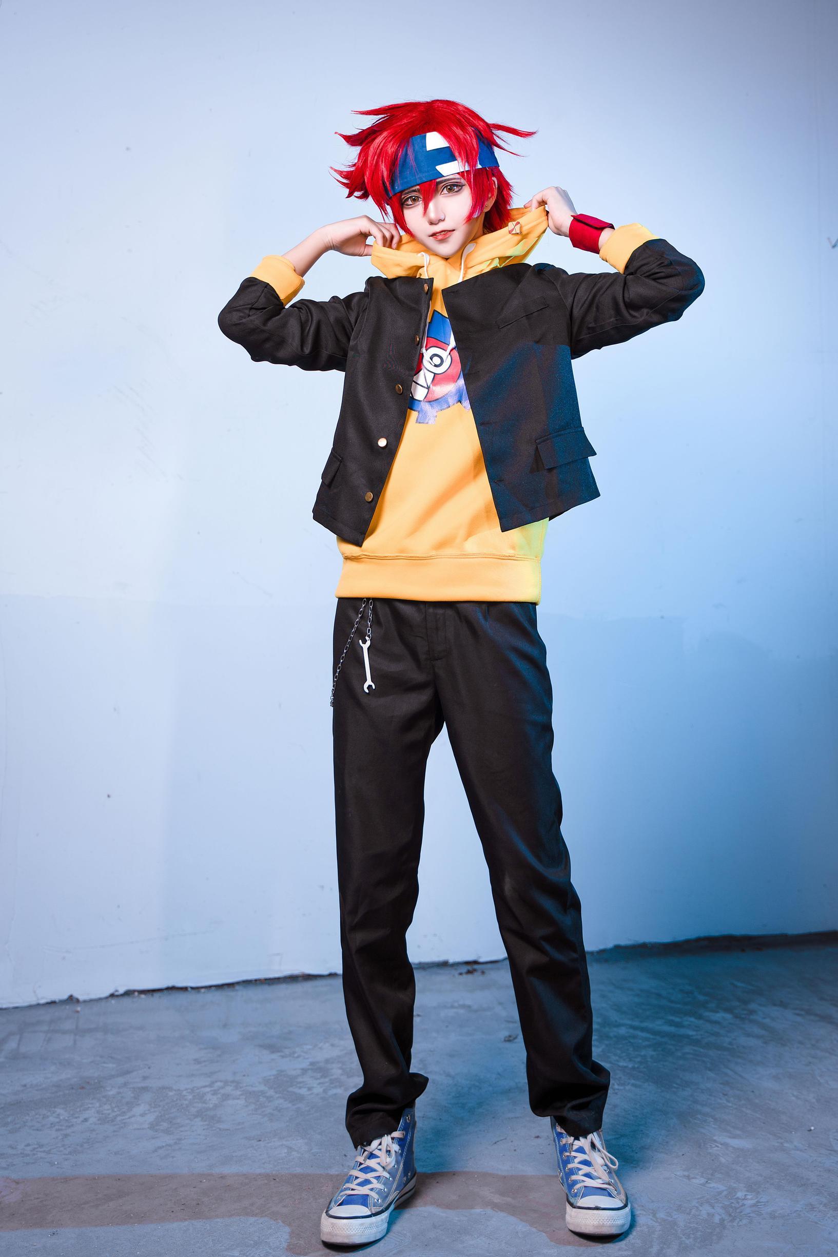 《无限滑板》少年cosplay【CN:南千鲤Akirui】 -cosplay福利制服图片插图