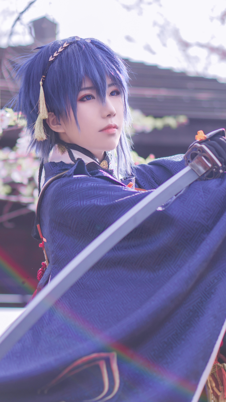 《刀剑乱舞》三日月宗近cosplay【CN:槭述】-第4张