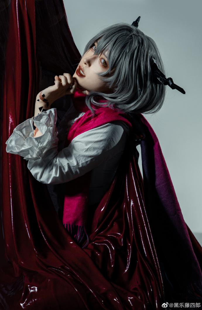明日方舟   塔露拉 -【 Dragon Lady】-   @黑乐藤四郎 (9P)-第2张
