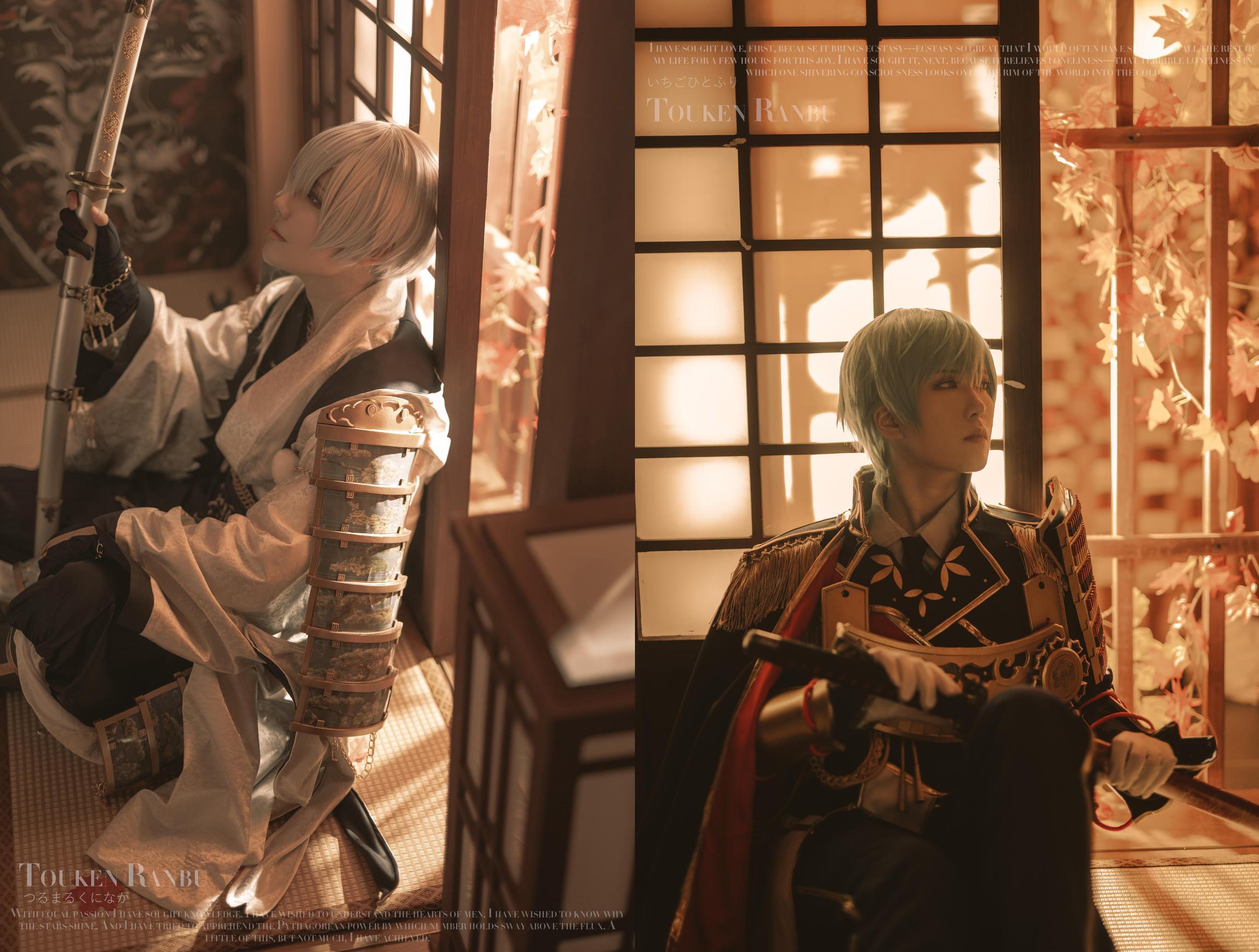 《刀剑乱舞》预告cosplay【CN:CXXXS】-第1张