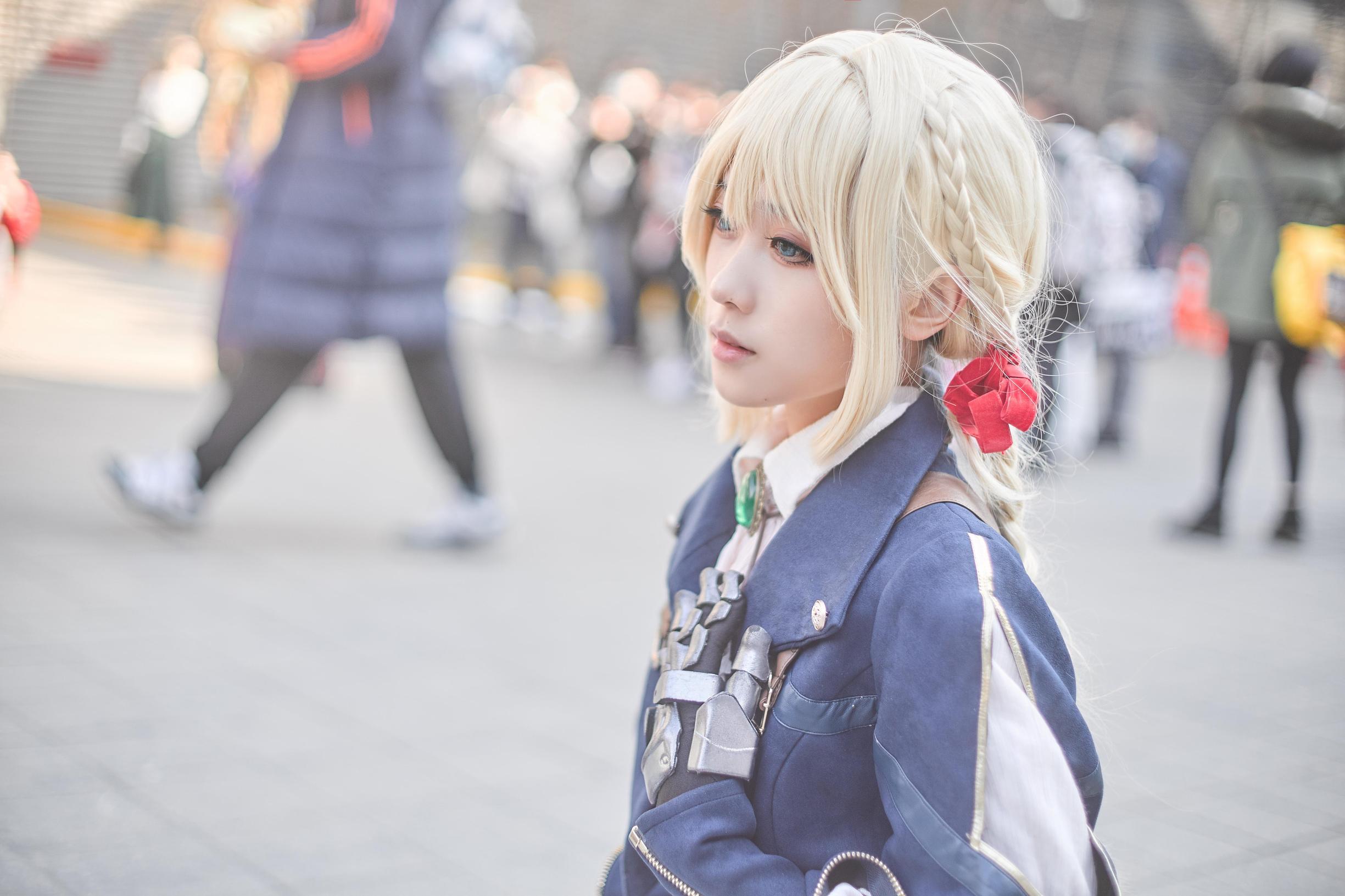 《紫罗兰永恒花园》漫展cosplay【CN:岛田小熊】-第8张