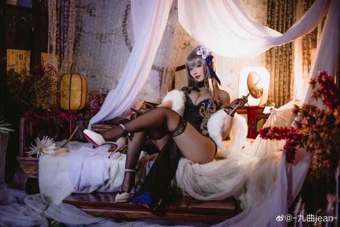 [COS]碧蓝航线   路易九世   @-奥奇传说cosplay图片九曲jean- (9P) –插图