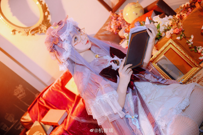 [COS]东方Project   帕秋莉·诺蕾姬   @机智璃 (9P) -劳拉cosplay图片插图