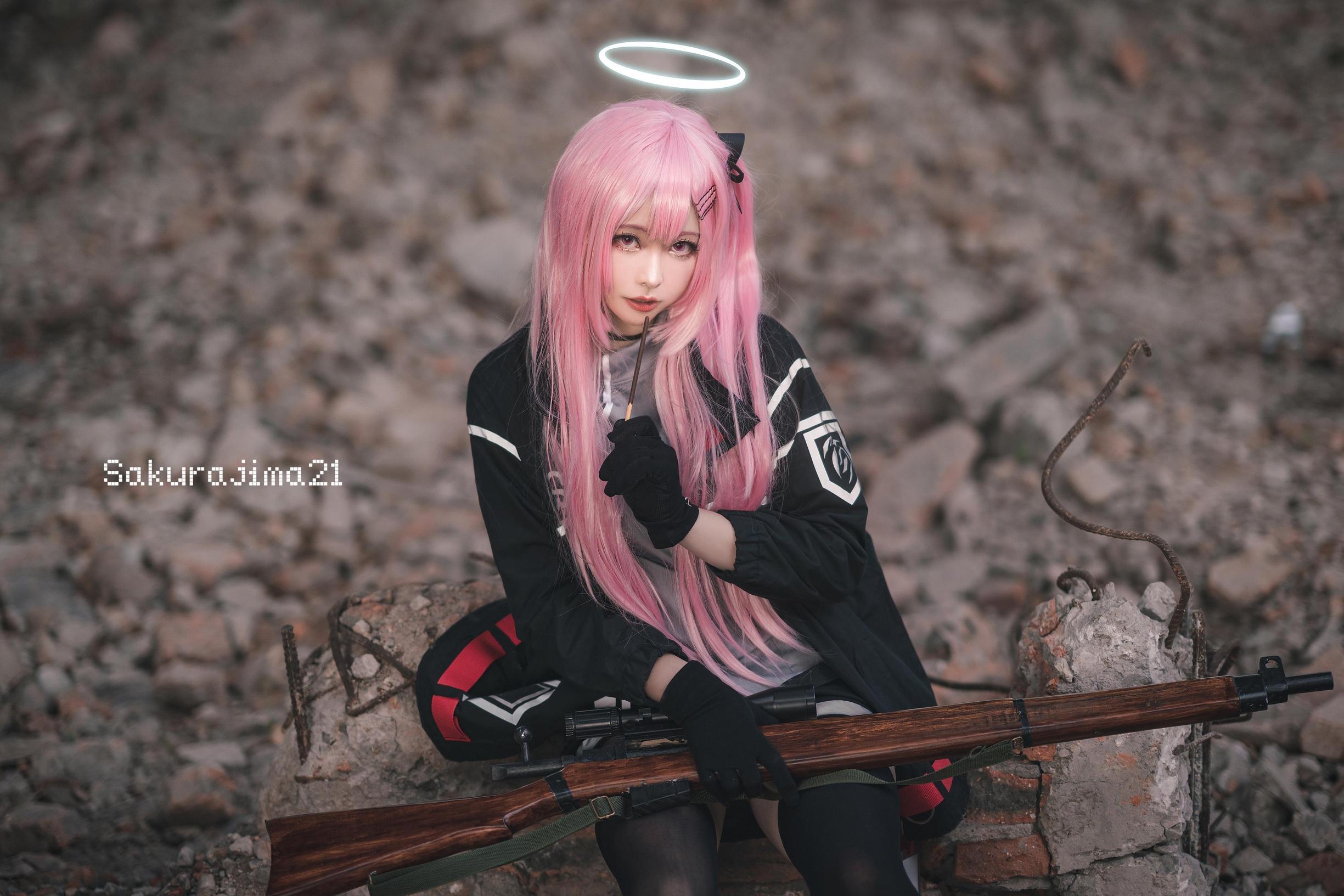 《明日方舟》正片cosplay【CN:樱岛嗷一】-第3张