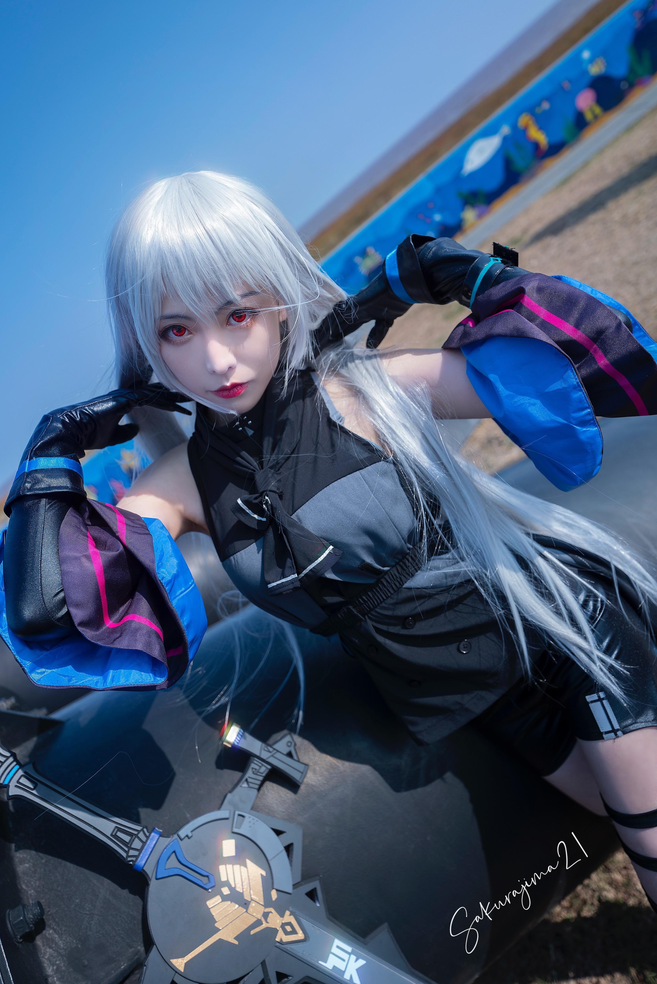 《明日方舟》正片cosplay【CN:樱岛嗷一】-第13张