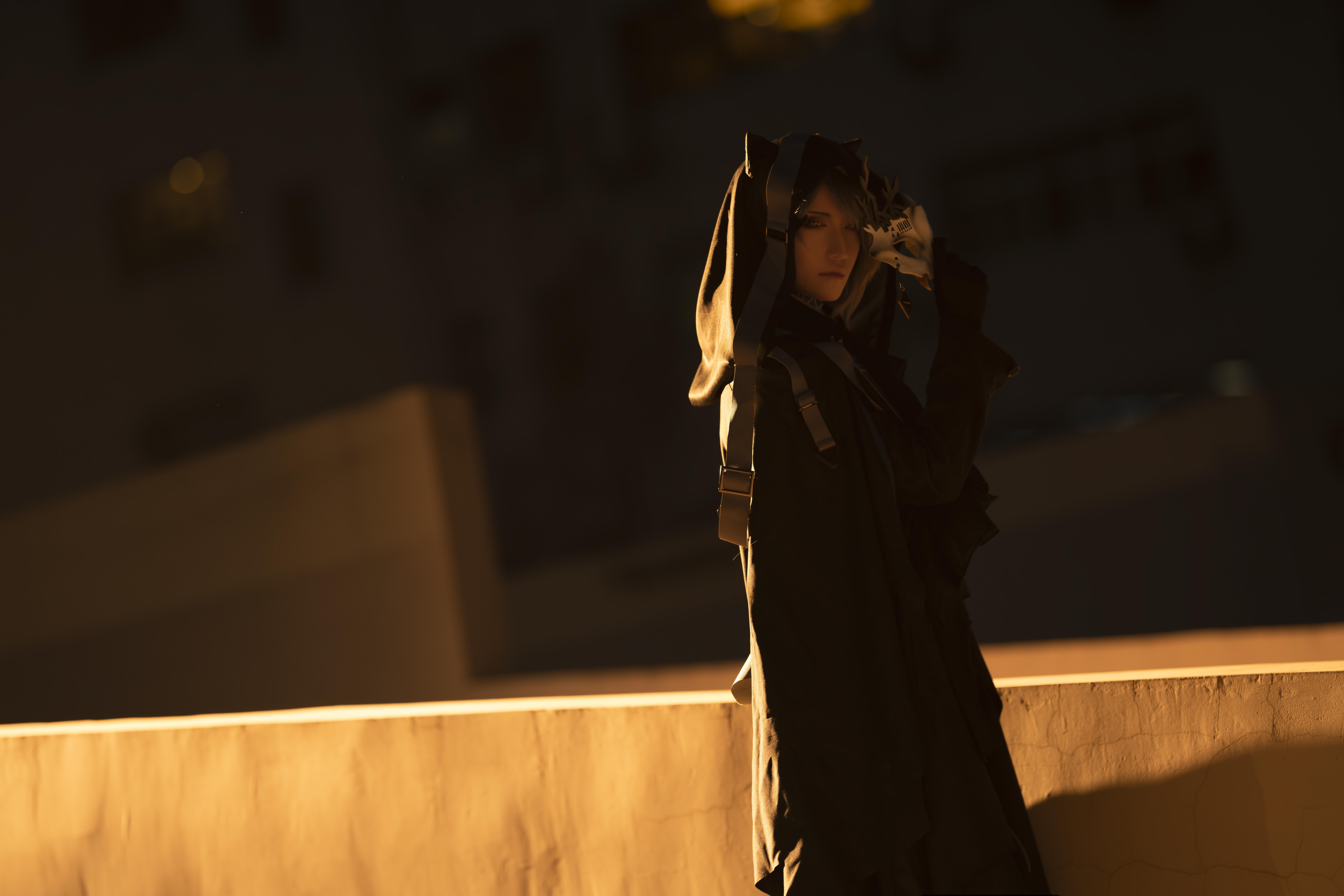 《明日方舟》正片cosplay【CN:斯诺_Yukina】-第21张