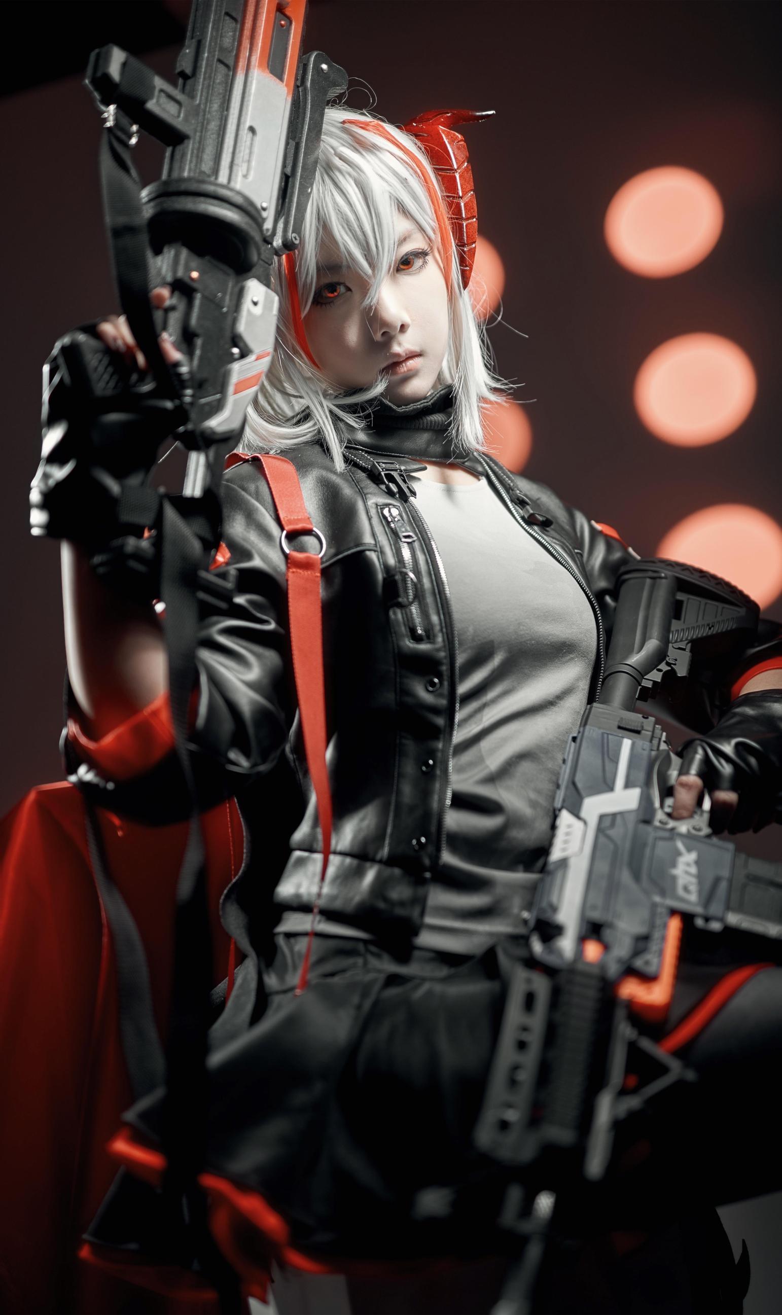《明日方舟》不敢cosplay【CN:三部终焉】 -cosplay集市创意图片插图