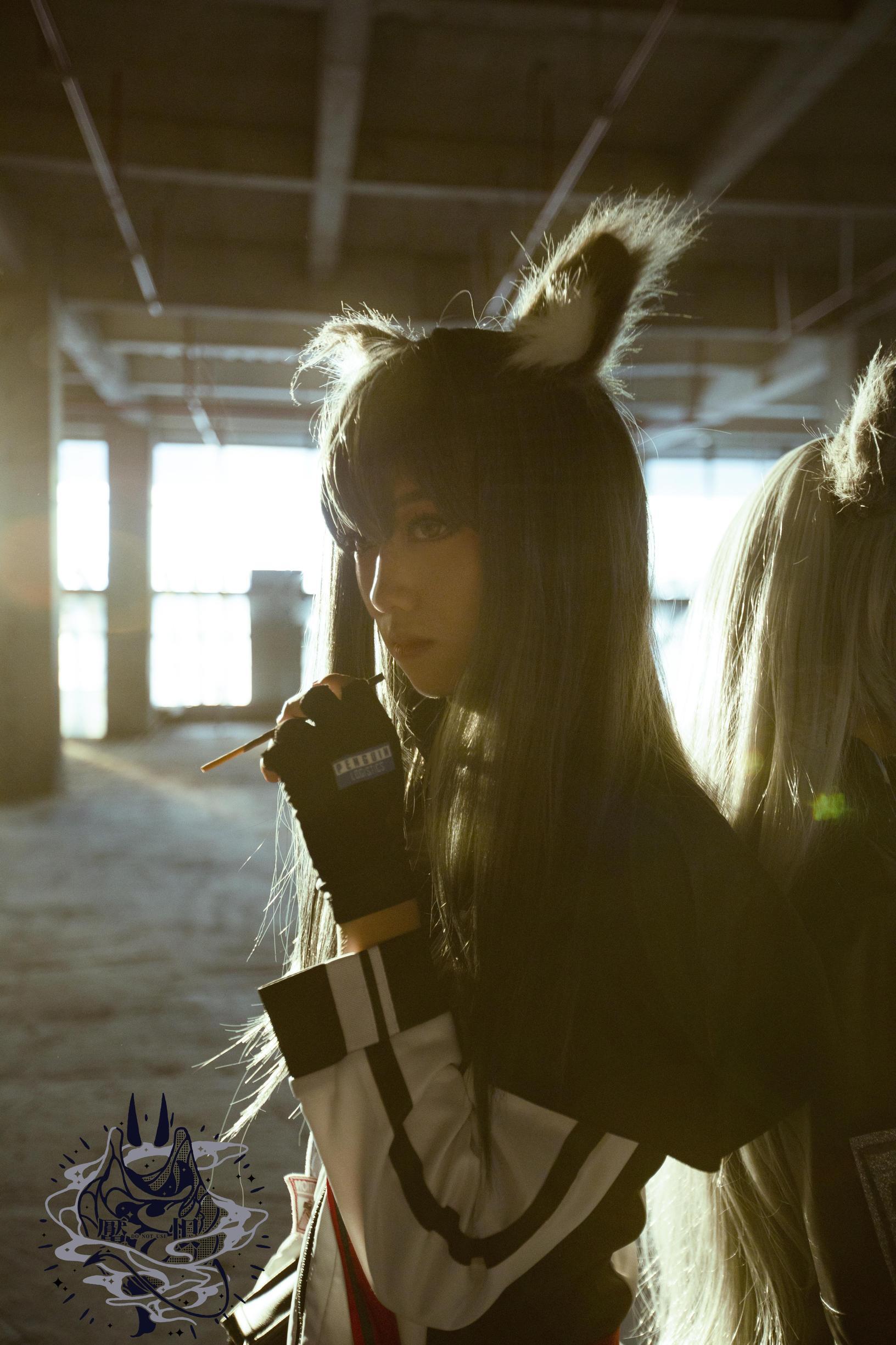 《明日方舟》拉普兰德cosplay【CN:魇恨哒~】 -lol伊芙琳cosplay图片插图