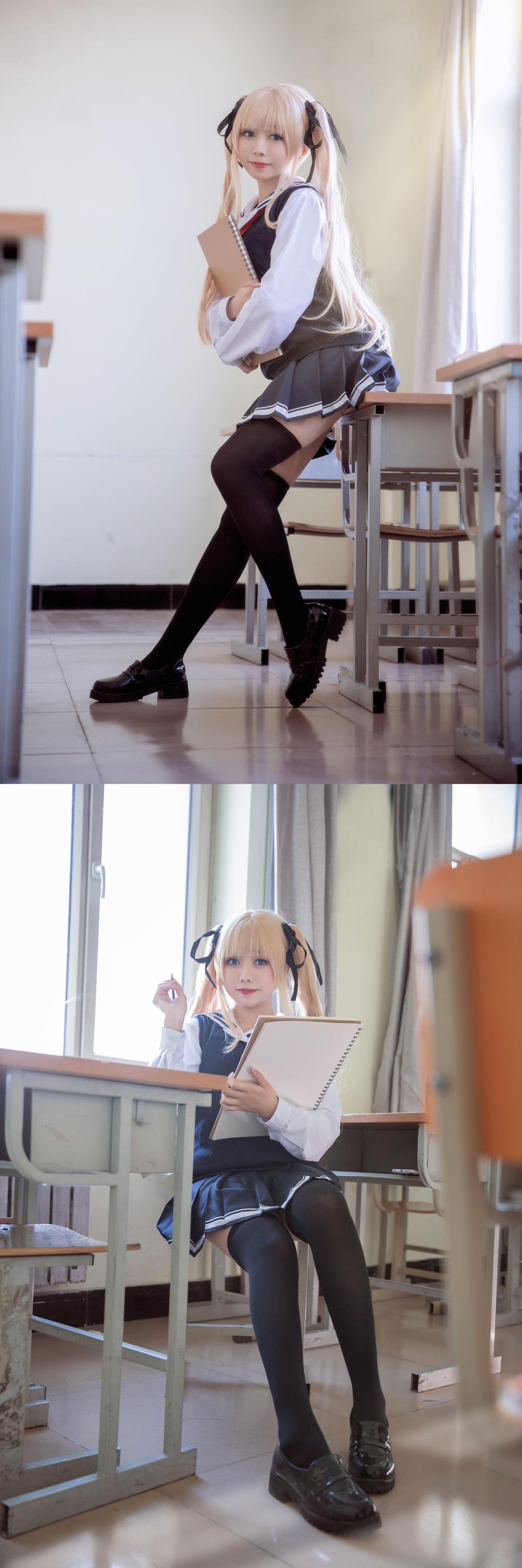 《路人女主的养成方法》霞之丘诗羽cosplay【CN:Azuk1】-第4张
