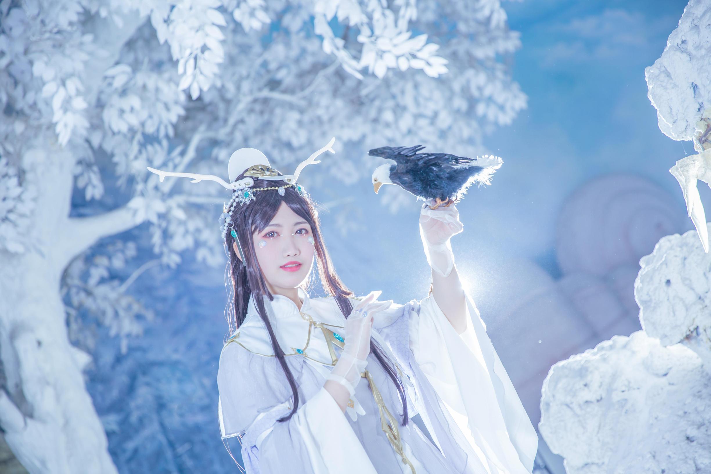 《剑侠情缘网络版叁》蓬莱cosplay【CN:凌霜月半】-第1张