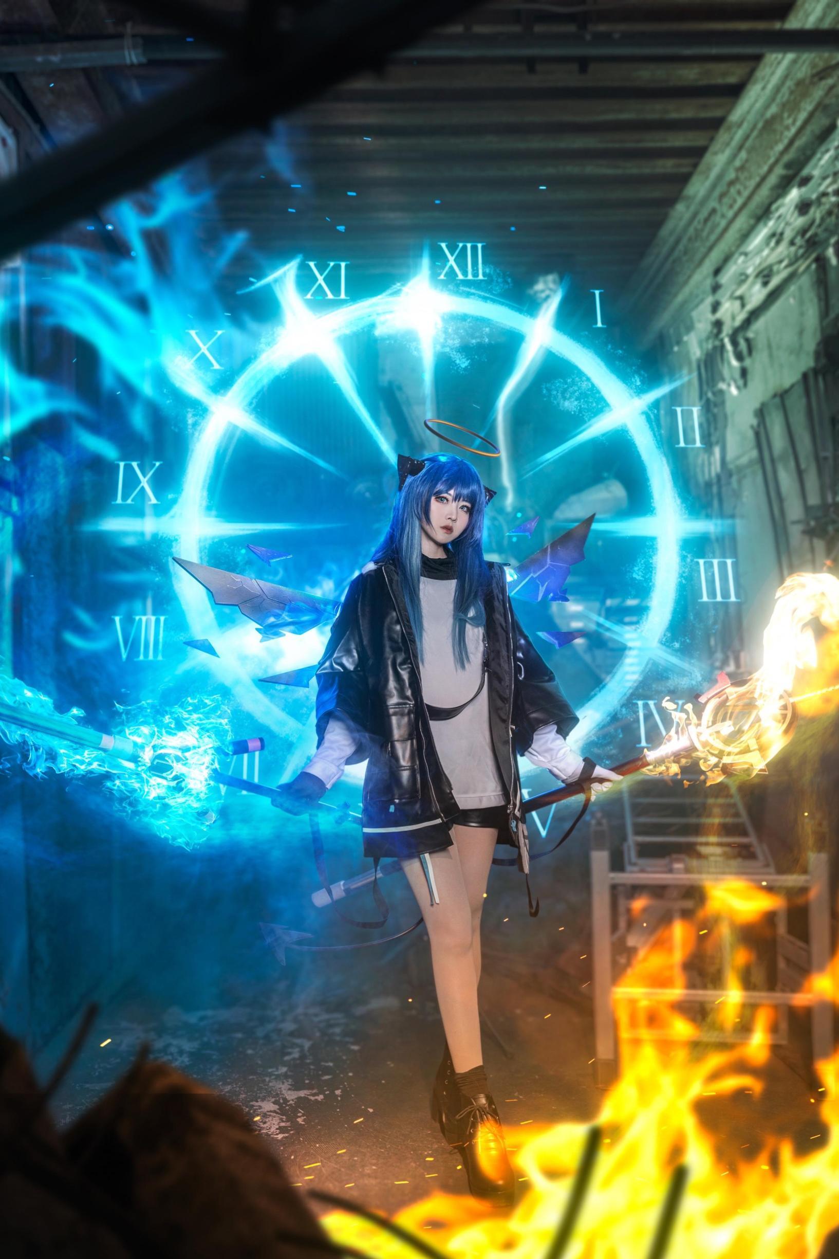 《明日方舟》正片cosplay【CN:roka様】-第4张