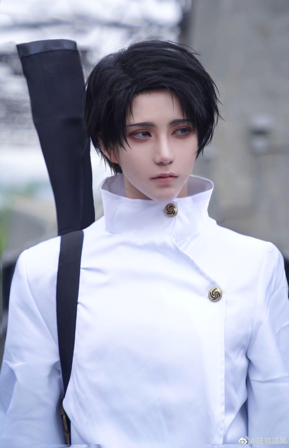 《咒术回战》陆鹫贰黑cosplay-第2张