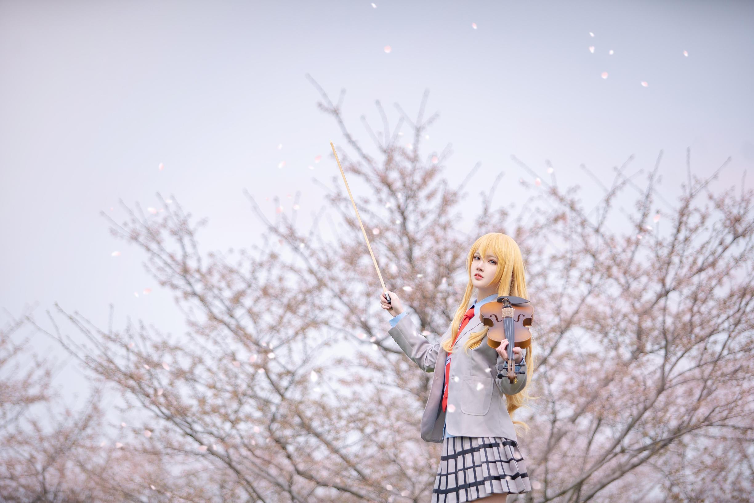 《四月是你的谎言》宫园薰cosplay【CN:逸仔_】-第4张