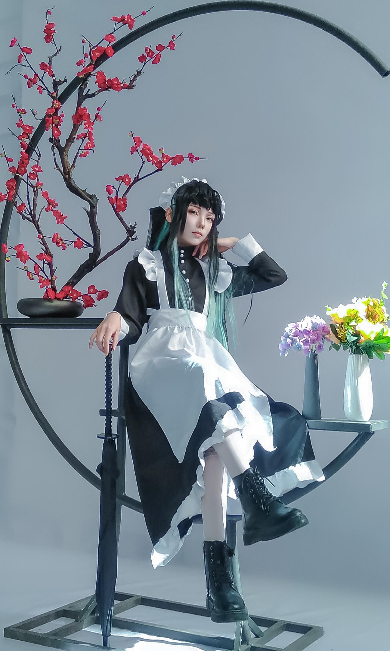 《鬼灭之刃》鬼灭之刃时透无一郎cosplay【CN:这是一只安爷】-第1张