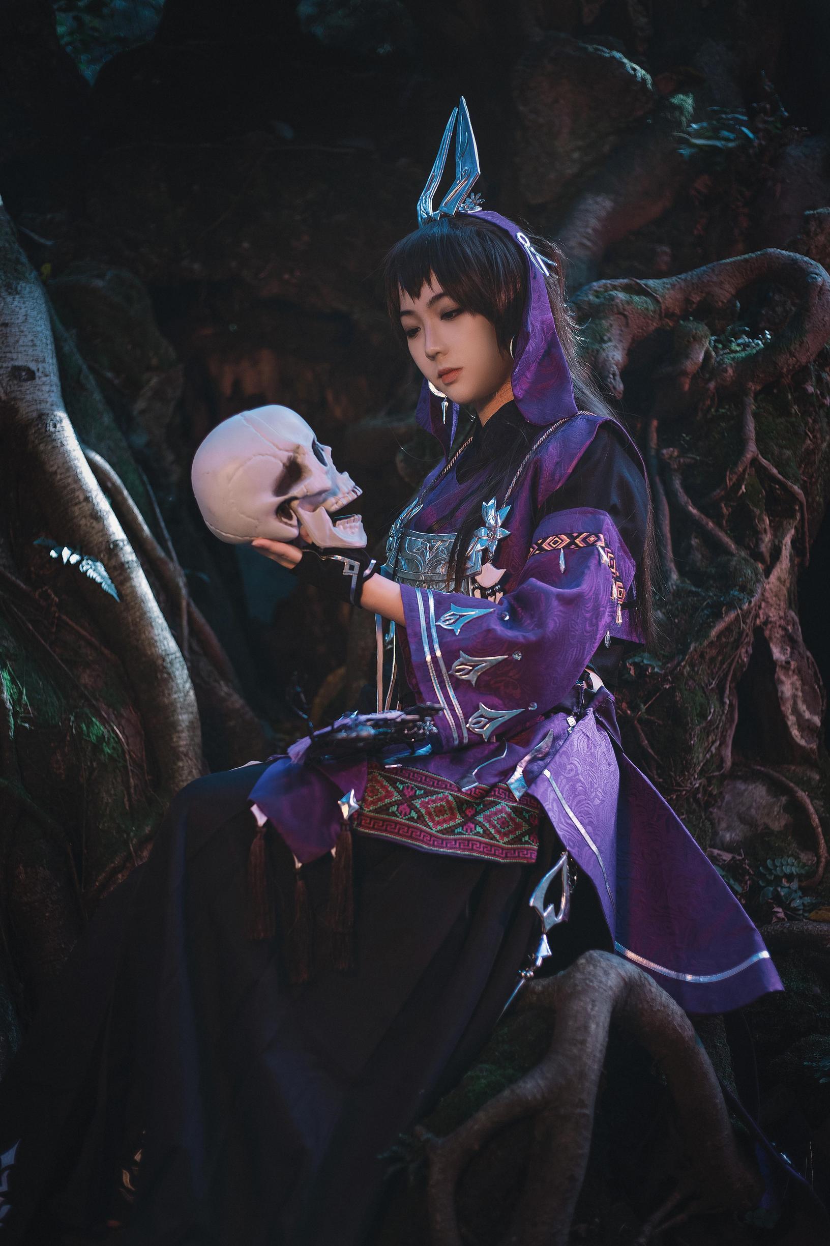 《剑侠情缘网络版叁》剑网三cosplay【CN:魔光海韵】 -古风cosplay的图片插图