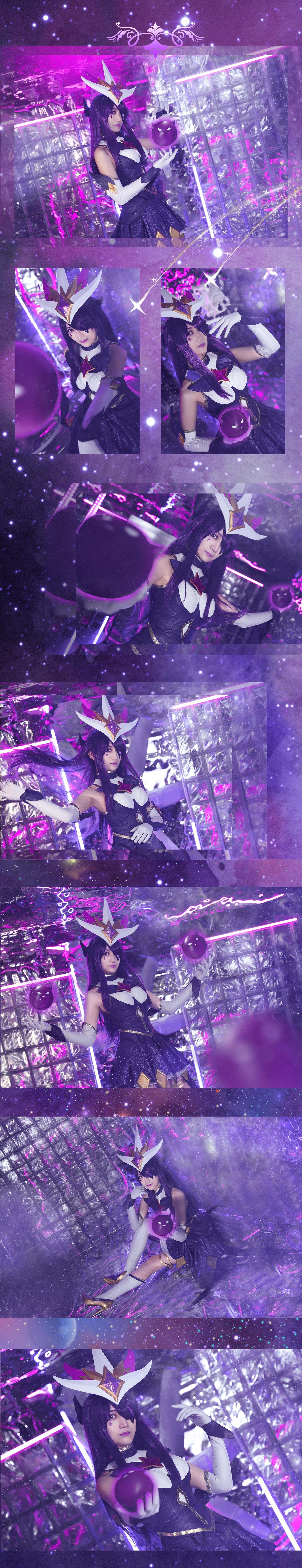《英雄联盟》英雄联盟辛德拉cosplay【CN:悠米Yui】-第1张
