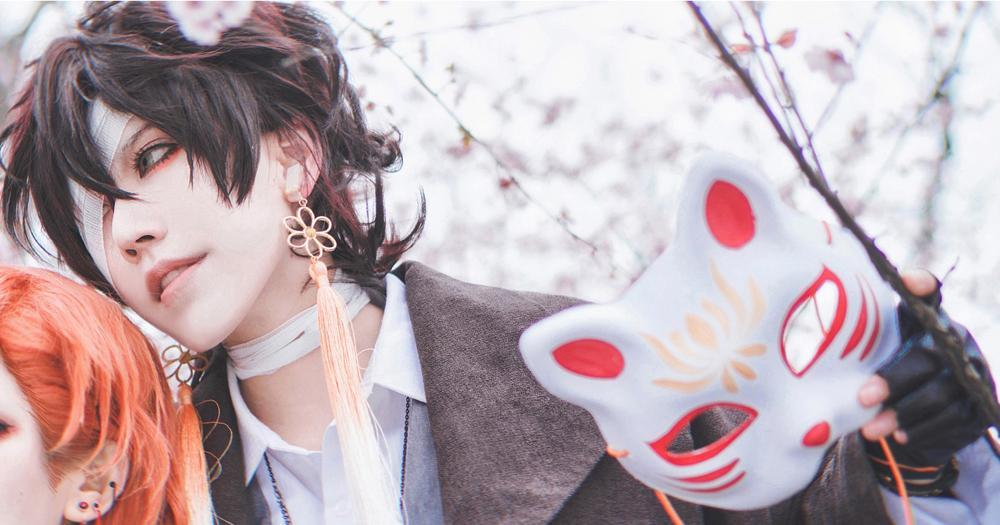 《文豪野犬》文豪野犬太宰治cosplay【CN:斑厂长和囧天两个小垃圾】-第12张