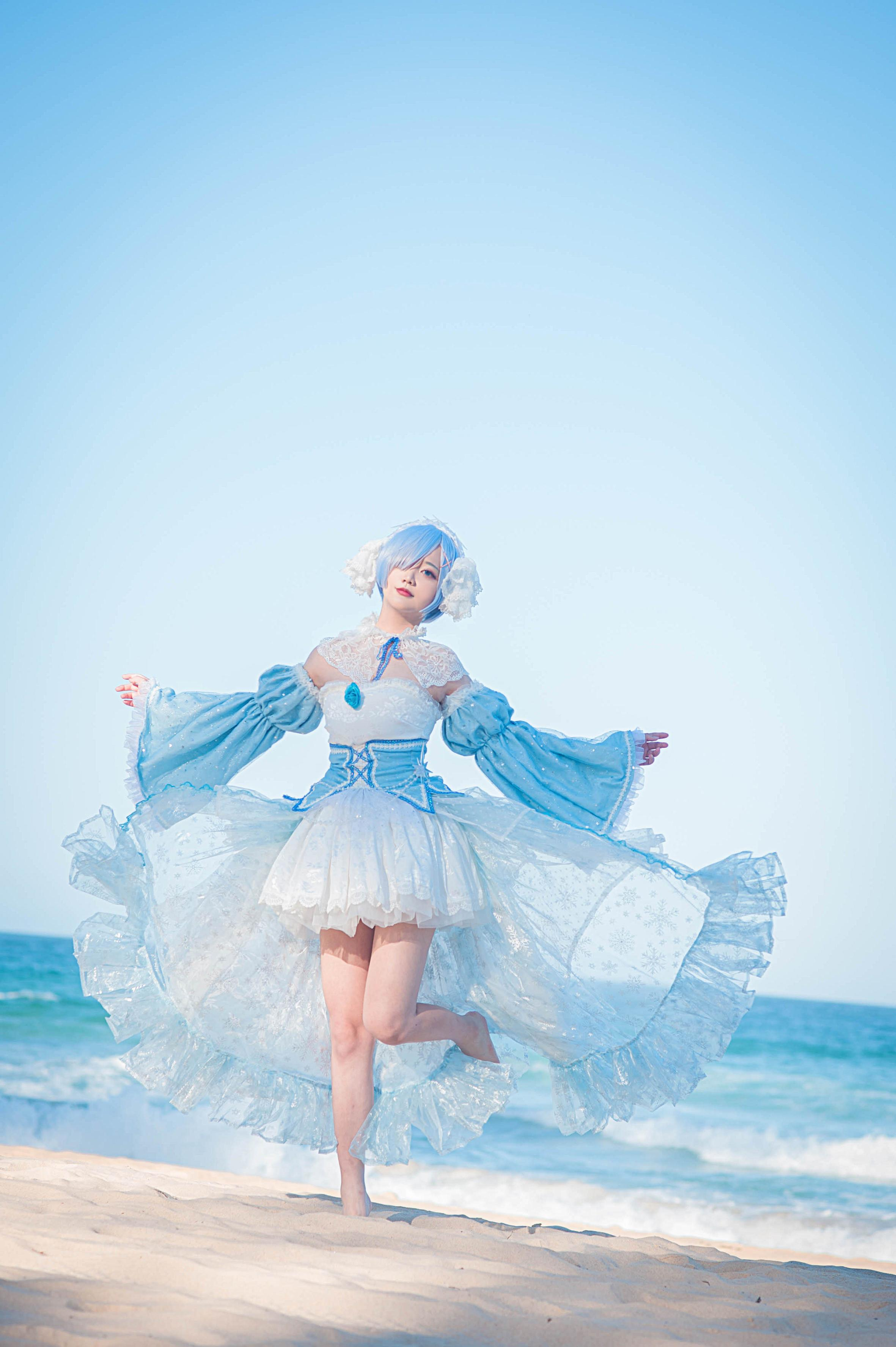 《RE:从零开始的异世界生活》从零开始的异世界生活蕾姆cosplay【CN:Kyuu_九笛】-第4张