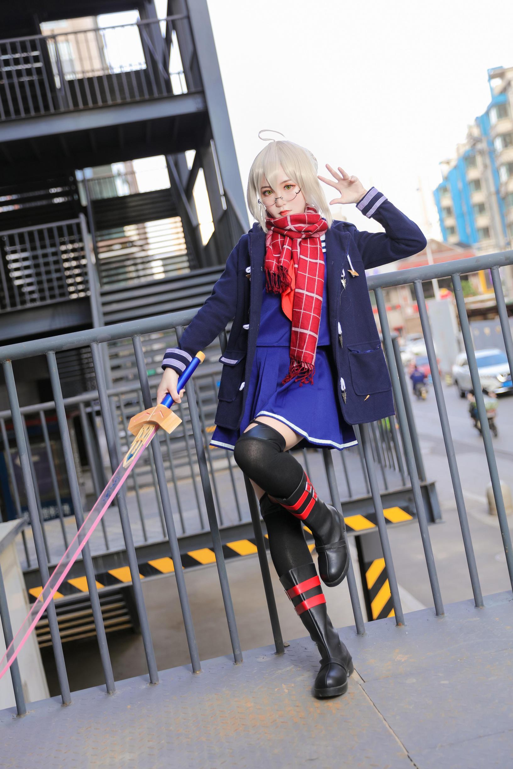 《FATE/GRAND ORDER》正片cosplay【CN:泡泡_咖啡因成瘾患者】 -cosplay丝袜图片短裙插图