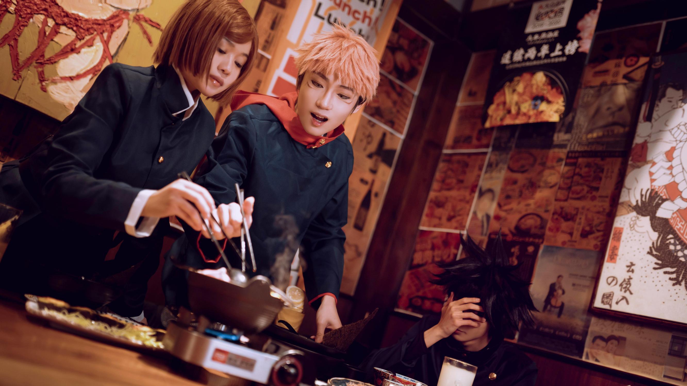 《咒术回战》蔷薇cosplay【CN:慕恩闷】-第6张